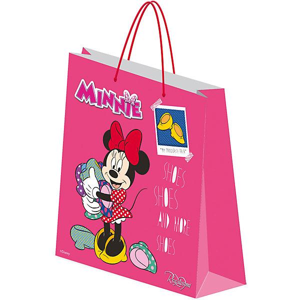 Подарочный пакет Минни Маус 33*43*10 смМинни Маус<br>Красиво упакованный подарок приятно получать вдвойне! Яркий пакет с любимыми героями станет прекрасным дополнением к любому подарку. <br><br>Дополнительная информация:<br><br>- Материал: бумага.<br>- Размер: 33 х 43 х 10 см.<br>- Эффект: матовая ламинация. <br><br>Подарочный пакет Минни Маус (Minnie Mouse) 33 х 43 х 10 см., можно купить в нашем магазине.<br>Ширина мм: 2; Глубина мм: 330; Высота мм: 430; Вес г: 97; Возраст от месяцев: 60; Возраст до месяцев: 108; Пол: Женский; Возраст: Детский; SKU: 4319937;