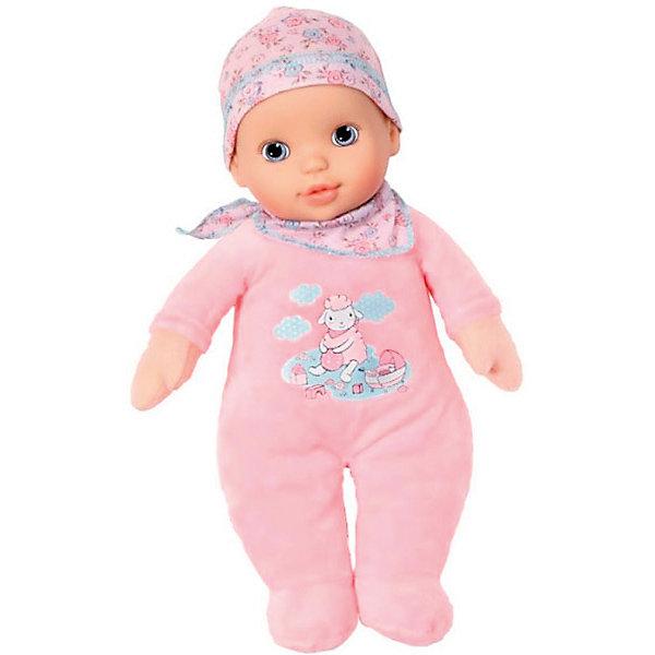 Кукла-пупс Zapf Creation Baby Annabell мягконабивная, 30 смКуклы<br>Характеристики товара:<br><br>• возраст: от 12 месяцев;<br>• из чего сделана игрушка (состав): винил, наполнитель, текстиль;<br>• высота куклы: 30 см.;<br>• упаковка: картонная коробка открытого типа;<br>• страна обладатель бренда: Германия.<br><br>Мягконабивная кукла Baby Annab<br>Ширина мм: 268; Глубина мм: 215; Высота мм: 175; Вес г: 347; Возраст от месяцев: 0; Возраст до месяцев: 24; Пол: Женский; Возраст: Детский; SKU: 4320530;