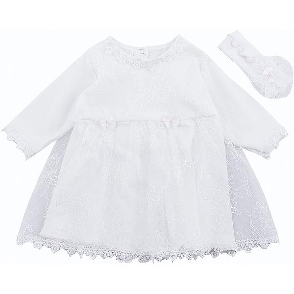 Комплект на выписку: платье и повязка на голову для девочки Soni KidsПлатья<br>Комплект на выписку:  платье и повязка на голову для девочки от популярной марки Soni Kids<br><br>Симпатичный и удобный комплект состоит из платья и повязки. Он создан специально для того, чтобы подчеркнуть торжественность момента выписки и сделать малышку особенно очаровательной.<br><br>Особенности модели:<br><br>- цвет - молочный;<br>- материал натуральный хлопок;<br>- украшен кружевом;<br>- рукава длинные;<br>- повязка - на широкой резинке, украшена гипюром и бантом;<br>- рукава длинные;<br>- застежки - кнопки впереди.<br><br>Дополнительная информация:<br><br>Состав:  100% хлопок (интерлок)<br><br>Габариты:<br><br>длина - 35 см;<br>длина рукава  - 18 см.<br><br>*соответствует размеру 56<br><br><br>Комплект на выписку:  платье и повязка на голову для девочки от популярной марки Soni Kids (Сони Кидс) можно купить в нашем магазине.<br><br>Ширина мм: 157<br>Глубина мм: 13<br>Высота мм: 119<br>Вес г: 200<br>Цвет: бежевый<br>Возраст от месяцев: 2<br>Возраст до месяцев: 5<br>Пол: Женский<br>Возраст: Детский<br>Размер: 62<br>SKU: 4323496