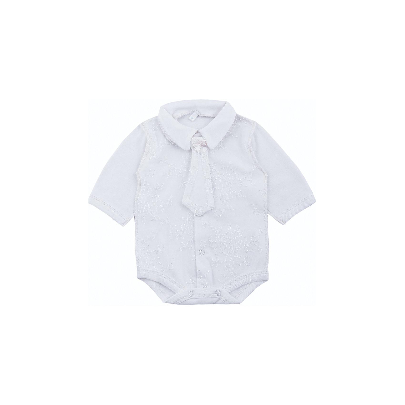 Комплект на выписку: боди и галстук для мальчика Soni KidsКомплект на выписку: боди и галстук для мальчика от популярной марки Soni Kids<br><br>Нарядный и удобный комплект состоит из боди и галстука. Он создан специально для того, чтобы подчеркнуть торжественность момента выписки и сделать малыша особенно очаровательным.<br><br>Особенности модели:<br><br>- цвет - молочный;<br>- материал - натуральный хлопок;<br>- отложной воротник;<br>- украшен гипюром;<br>- рукава длинные;<br>- галстук на завязках, украшен бантом;<br>- застежки - кнопки впереди и внизу.<br><br>Дополнительная информация:<br><br>Состав:  100% хлопок (интерлок)<br><br>Габариты:<br><br>длина по спинке - 34 см;<br>длина рукава  - 16 см.<br><br>*соответствует размеру 56<br><br><br>Комплект на выписку: боди и галстук для мальчика от популярной марки Soni Kids (Сони Кидс) можно купить в нашем магазине.<br><br>Ширина мм: 157<br>Глубина мм: 13<br>Высота мм: 119<br>Вес г: 200<br>Цвет: бежевый<br>Возраст от месяцев: 0<br>Возраст до месяцев: 3<br>Пол: Мужской<br>Возраст: Детский<br>Размер: 56<br>SKU: 4323504