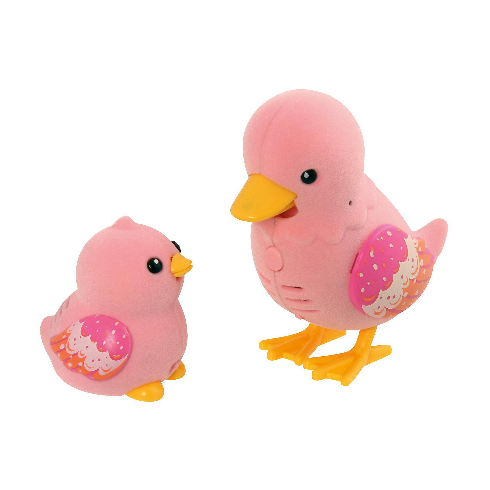 Игрушка Мама утка с утенком Waddle, Little Live Pets, MooseИгрушка Мама утка с утенком Waddle, Little Live Pets, Moose  – это интерактивная игрушка, которая вызовет восторг у вашего ребенка.<br>Семья интерактивных уточек станет великолепным подарком для ребенка. Мама-утка и утенок Waddle имеют одинаковую окраску. На нежно розовом тельце птичек выделяются красивые крылышки с узором в виде перьев. Лапки и клюв у уток желтые. Забавные уточки умеют запоминать короткие фразы и слова, а затем исполнять их на свой лад. Кроме того они знают 55 мелодий. Для того, чтобы они их исполнили достаточно погладить уток. Чем больше Вы их гладите, тем больше они поют. И, конечно же, мама утка и утенок могут говорить между собой! Когда уточки поют или произносят слова, у них двигается нижняя часть клювика. Игрушки сделаны из специального ударостойкого пластика, сверху покрыты бархатистым флоком, приятные на ощупь.<br><br>Дополнительная информация:<br><br>- В комплекте: утка, утенок<br>- Цвет: розовый, желтый, белый, оранжевый<br>- Игрушка рекомендована для детей в возрасте от 5 лет<br>- Материал: высококачественный прочный пластик, флок<br>- Размер упаковки: 23 х 21,5 х 22,6 см.<br>- Внимание! Для работы Вам потребуются 2 батарейки типа ААА (для мамы утки), а также 3 батарейки таблетки (Button Cell). В набор включены тестовые батарейки. Их рекомендуется заменить на полноценные источники питания<br><br>Игрушку Мама утка с утенком Waddle, Little Live Pets, Moose  можно купить в нашем интернет-магазине.<br><br>Ширина мм: 218<br>Глубина мм: 220<br>Высота мм: 73<br>Вес г: 248<br>Возраст от месяцев: 60<br>Возраст до месяцев: 108<br>Пол: Унисекс<br>Возраст: Детский<br>SKU: 4324842