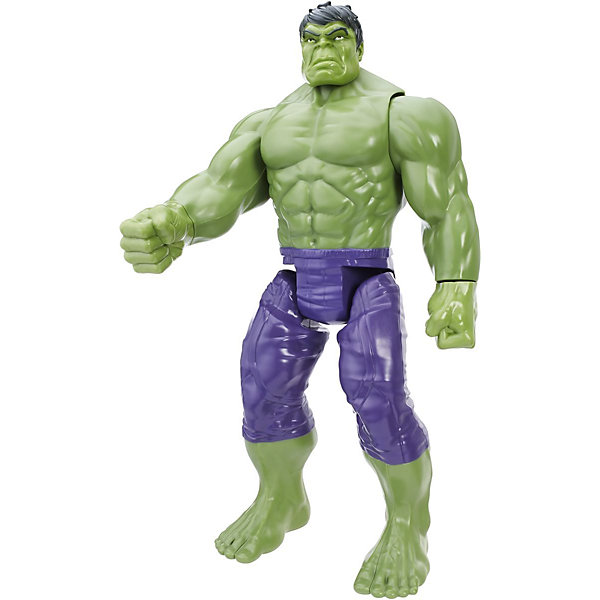 Титаны: фигурка Халка, МстителиИгрушки<br>Титаны: фигурка Халка, Мстители.<br><br>Характеристики:<br><br>- Высота фигурки: 30 см.<br>- Материал: пластик<br>- Цвет: зеленый, синий, черный<br><br>Игровая фигурка Халка с устрашающей гримасой на лице порадует любого маленького поклонника знаменитой франшизы Мстители. Фигурка тщательно детализирована, полностью соответствует своему прототипу. Игрушка имеет 7 точек артикуляции, двигаются руки и ноги, вращаются огромные ладони. С фигуркой Халка ваш ребенок сможет разыгрывать сценки из любимого фильма или придумывать собственный сценарий спасения планеты. Игровой аксессуар выполнен из ярко окрашенного пластика, сертифицированного для производства товаров для детей.<br><br>Титаны: фигурку Халка, Мстители можно купить в нашем интернет-магазине.<br>Ширина мм: 306; Глубина мм: 170; Высота мм: 81; Вес г: 464; Возраст от месяцев: 48; Возраст до месяцев: 108; Пол: Мужской; Возраст: Детский; SKU: 4326296;