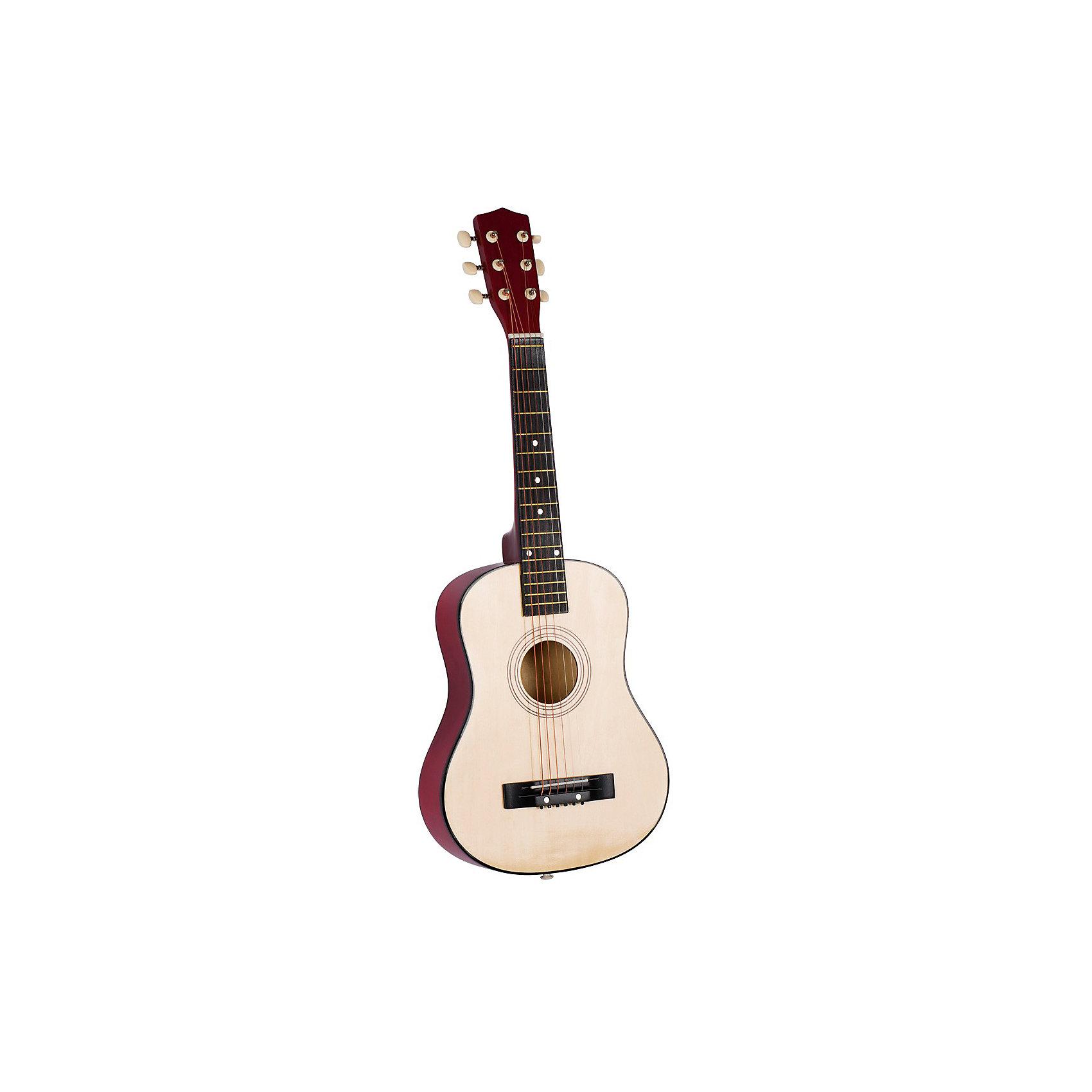 Гитара шестиструнная, 76 см., gokiМузыкальные инструменты и игрушки<br>Гитара шестиструнная, 76 см., goki (Гоки)<br><br>Характеристики:<br><br>• изготовлена из дерева<br>• 6 струн<br>• высота гитары: 76 см<br>• размер: 76х12х50 см<br><br>Если ваш ребенок интересуется музыкой - предложите ему гитару от goki. Она отлично подходит для детских рук, имеет 6 синтетических струн и изготовлена из дерева, что делает ее полностью безопасной для ребенка. Игра на гитаре поможет развить музыкальный вкус и даже открыть музыкальные способности!<br><br>Гитару шестиструнную, 76 см., goki (Гоки) вы можете купить в нашем интернет-магазине.<br><br>Ширина мм: 760<br>Глубина мм: 120<br>Высота мм: 500<br>Вес г: 1265<br>Возраст от месяцев: 72<br>Возраст до месяцев: 144<br>Пол: Унисекс<br>Возраст: Детский<br>SKU: 4328617