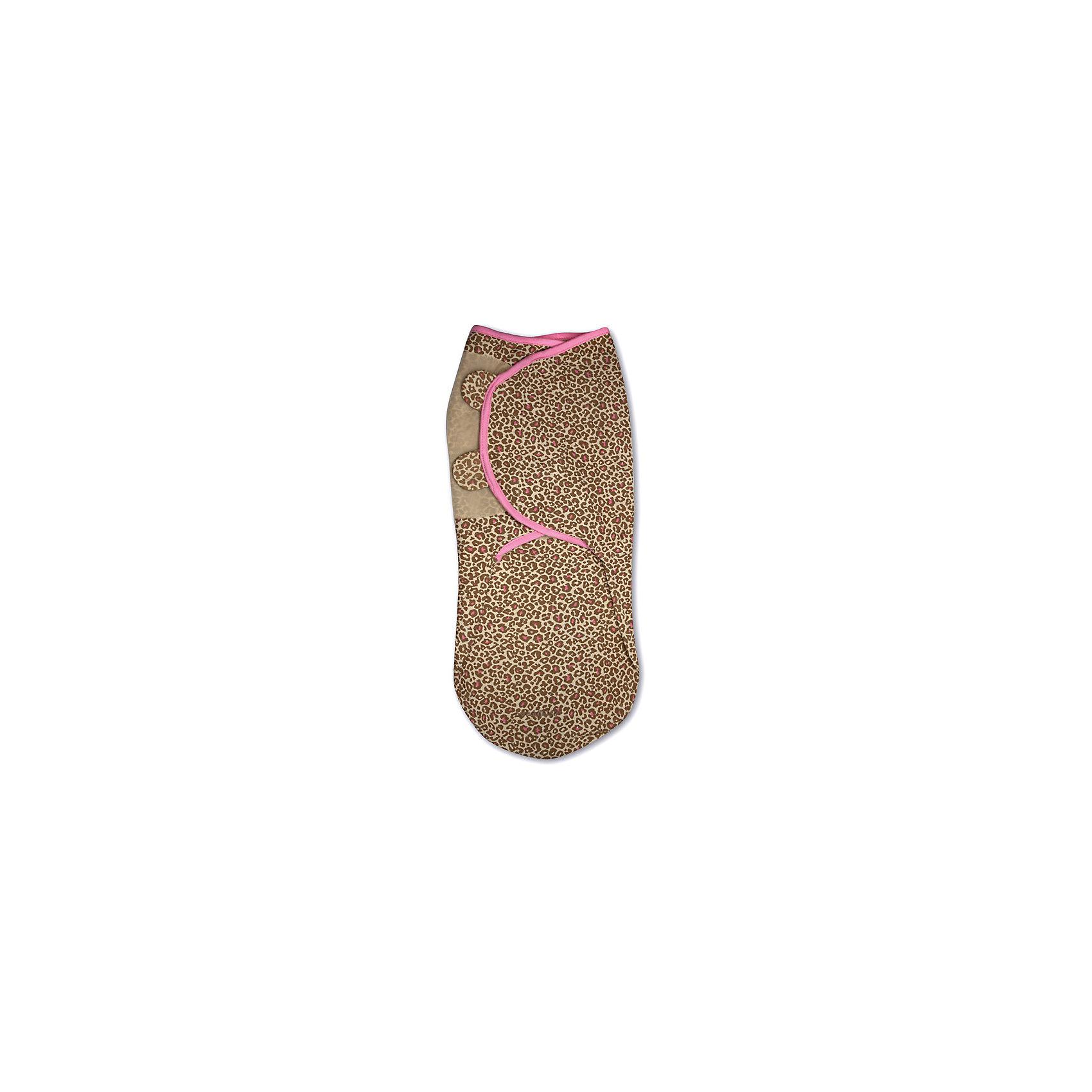 Конверт для пеленания на липучке, SWADDLEME®, р-р L, леопард