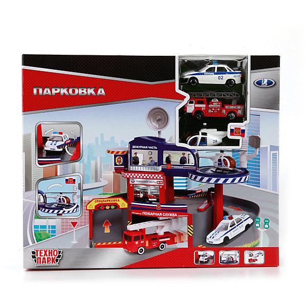 Парковка со спуском, ТЕХНОПАРКПарковки и гаражи<br>Характеристики:<br><br>• тип игрушки: набор;<br>• возраст: от 3 лет;<br>• размер: 8х31х26 см;<br>• материал: металл, пластик;<br>• бренд: Технопарк;<br>• страна производителя: Китай.<br><br>Технопарк «Парковка со спуском» позволяет  малышу почувствовать себя водителем машинок или работником дежурной части, картинками которой дополнен один из уровней. Причём это увлекательное занятие благотворно скажется на формировании образного мышления ребенка, а также поможет развить моторику рук. Сбоку расположена удобная вертолетная площадка с круглой платформой. На нижнем ярусе есть въезд на спецпарковку и гараж. Парковка украшена декоративными стикерами и указателями ярких цветов.<br>Тематические игры с интересными сюжетами разбудят воображение ребёнка, а манипуляции с игрушкой потренируют мелкую моторику пальцев рук. Масштабные модели от компании «Технопарк» отличаются качественными ударопрочными материалами, продлевающими долговечность изделия тщательным исполнением со вниманием ко всем деталям, и имеют требуемые сертификаты соответствия для детских игрушек.<br>Технопарк «Парковка со спуском»  можно купить в нашем интернет-магазине.<br><br>Ширина мм: 520<br>Глубина мм: 250<br>Высота мм: 320<br>Вес г: 580<br>Возраст от месяцев: 3<br>Возраст до месяцев: 120<br>Пол: Мужской<br>Возраст: Детский<br>SKU: 4336002