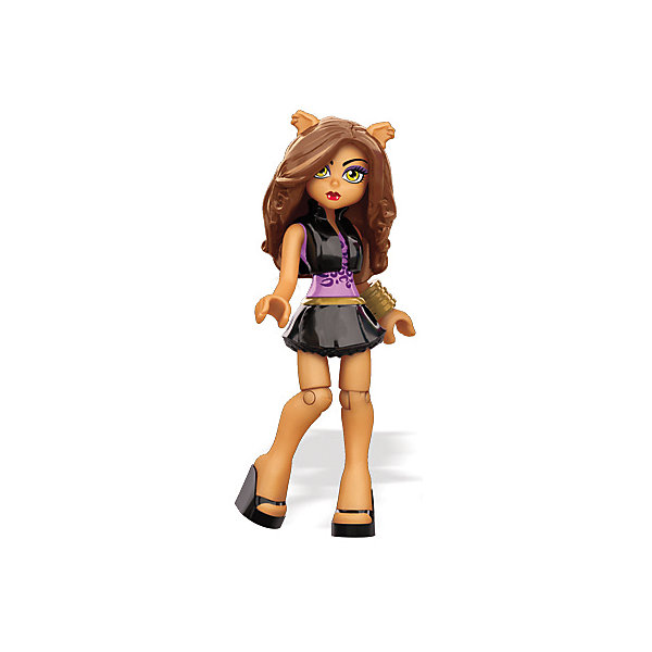Персонажи-монстры Monster High, в ассортименте MEGA BLOKSПластмассовые конструкторы<br>Персонажи-монстры Monster High, MEGA BLOKS (Мегаблокс), станут приятным сюрпризом для всех маленьких поклонниц мультфильмов и кукол серии Monster High. Школа Монстров - необычная школа, где учатся необычные ученики - дети знаменитых монстров и чудовищ, каждый из которых отличается своими уникальными особенностями и способностям. В ассортименте представлены фигурки учениц-монстров: Фрэнки Штейн (Frankie Stein), Гулия Йелпс (Ghoulia Yelps), Лагуна Блю (Lagoona Blue), Клаудин Вульф (Clawdeen Wolf), Венера Макфлайтрап (Venus McFlytrap), Спектра Вондергейст (Spectra Vondergeist) и близняшки Мяулодия и Пуррсефона (Meowlody и Purrsephone). В  комплект входит одна кукла, модный аксессуар к ней и игрушечный мобильный телефон. Каждая кукла тщательно детализирована и очень подвижна - руки и ноги сгибаются,<br>поворачиваются талия и голова. Все вместе куколки составят оригинальную и необычную коллекцию. <br><br>Дополнительная информация:<br><br>- В комплекте: детали для сборки куклы + аксессуары.<br>- Материал: пластик.<br>- В каждый комплект входит только одна кукла!<br>- Размер фигурки: 7 см.<br>- Размер упаковки: 7,1 х 1,3 х 3 см. <br>- Вес: 17 гр.<br><br>Персонажа-монстра Monster High, MEGA BLOKS (Мегаблокс), можно купить в нашем интернет-магазине.<br><br>ВНИМАНИЕ! Данный артикул имеется в наличии в разных вариантах исполнения. Заранее выбрать определенный вариант нельзя. При заказе нескольких кукол возможно получение одинаковых.<br>Ширина мм: 125; Глубина мм: 85; Высота мм: 25; Вес г: 17; Возраст от месяцев: 48; Возраст до месяцев: 72; Пол: Женский; Возраст: Детский; SKU: 4336736;