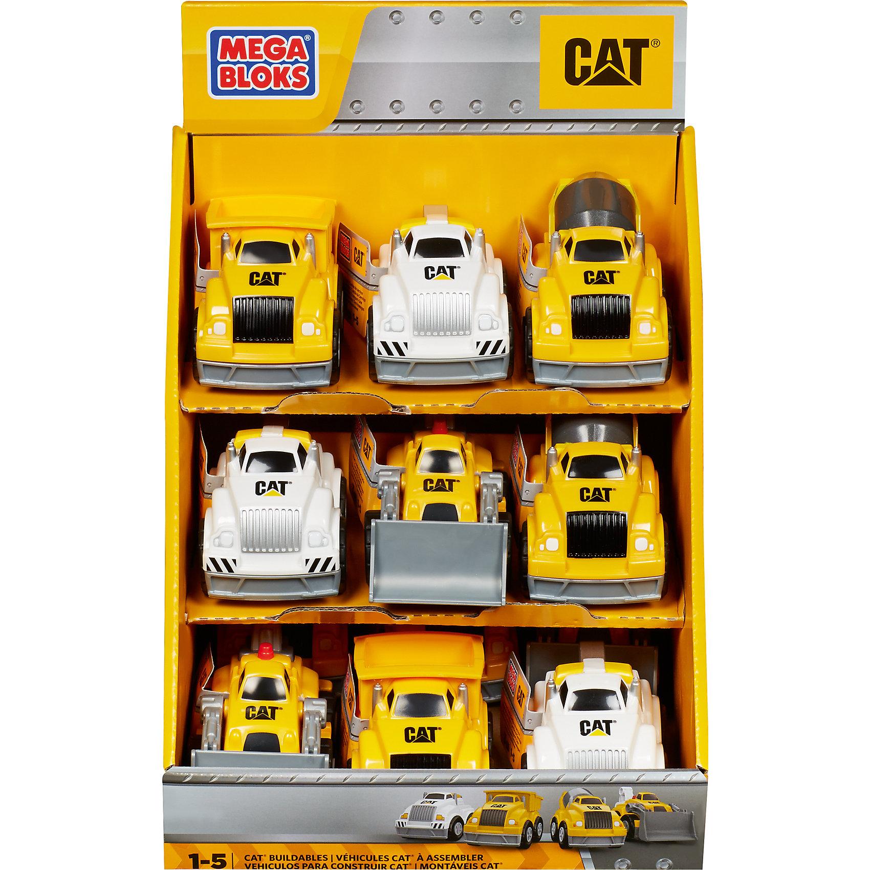 Маленький самосвал Caterpillar MEGA BLOKSМаленький самосвал Caterpillar, MEGA BLOKS (Мегаблокс), станет достойным пополнением коллекции маленького автолюбителя. Игрушка выполнена в ярком дизайне с тщательной проработкой всех деталей, легко собирается из трех деталей. Самосвал прекрасно подойдет для игр как дома так и на улице. В объемном кузове можно перевозить любые материалы и предметы для строительства, он легко опрокидывается, разгружая машину. Мощные большие колеса позволяют катать игрушку по любой поверхности, крупные округлые детали очень удобны для ручек малышей.  <br><br>Дополнительная информация:<br><br>- Количество деталей: 3.<br>- Материал: пластик.<br>- Размер упаковки: 6 x 9 x 6 см. <br>- Вес: 0,1 кг.<br><br>Маленький самосвал Caterpillar, MEGA BLOKS (Мегаблокс), можно купить в нашем интернет-магазине.<br><br>Ширина мм: 60<br>Глубина мм: 90<br>Высота мм: 60<br>Вес г: 60<br>Возраст от месяцев: 12<br>Возраст до месяцев: 72<br>Пол: Унисекс<br>Возраст: Детский<br>SKU: 4336740