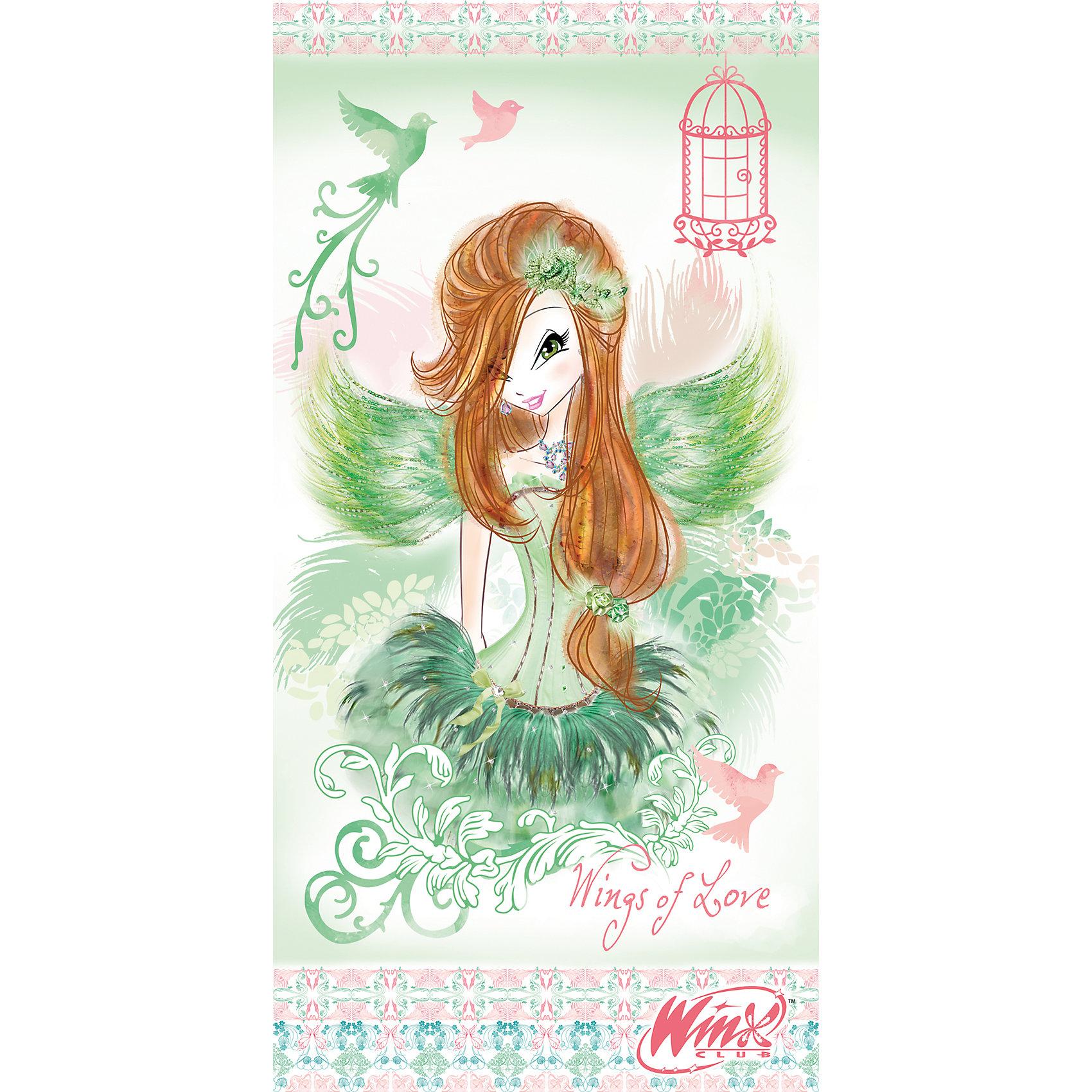 """Полотенце """"Winx Flora Fashion"""", 70*140 см, Winx Club от myToys"""
