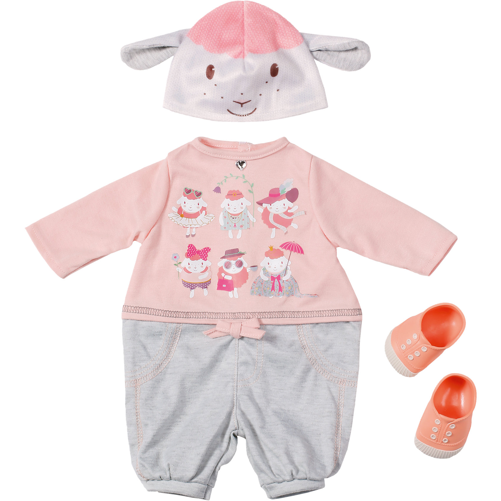 Zapf Creation Одежда для прогулки, Baby Annabell томсон д прогулки по барселоне