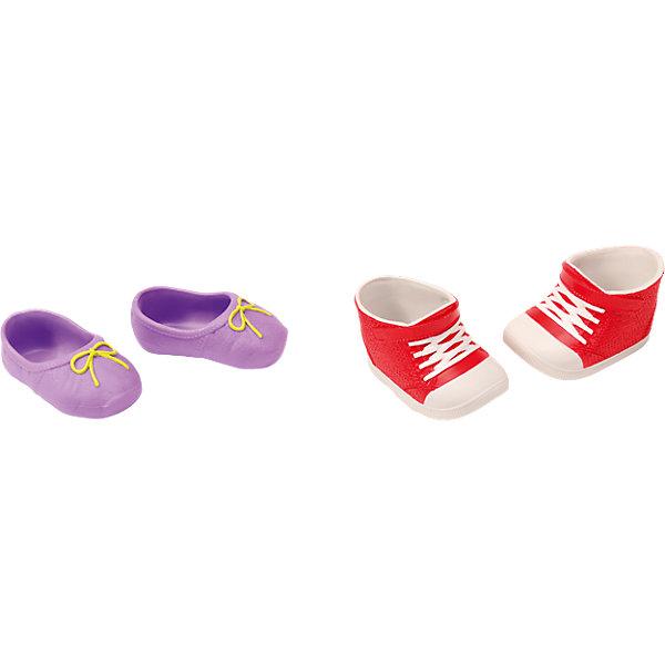 Ботиночки, 2 пары (для куклы), в ассорт, BABY bornБренды кукол<br>Набор обуви для куклы Бэби Бон (Baby Born) от компании Zapf Creation. Яркие, стильные ботиночки, кроссовки и сандалии украсят кукольный гардероб. Как и все игрушки и аксессуары Беби Борн, обувь выполнена очень качественно, с использованием только безопасных материалов и красок.<br>В ассортименте 4 различных набора, по 2 пары обуви в каждом. Наборы продаются отдельно.<br>Ширина мм: 219; Глубина мм: 179; Высота мм: 38; Вес г: 100; Возраст от месяцев: 36; Возраст до месяцев: 60; Пол: Женский; Возраст: Детский; SKU: 4339340;