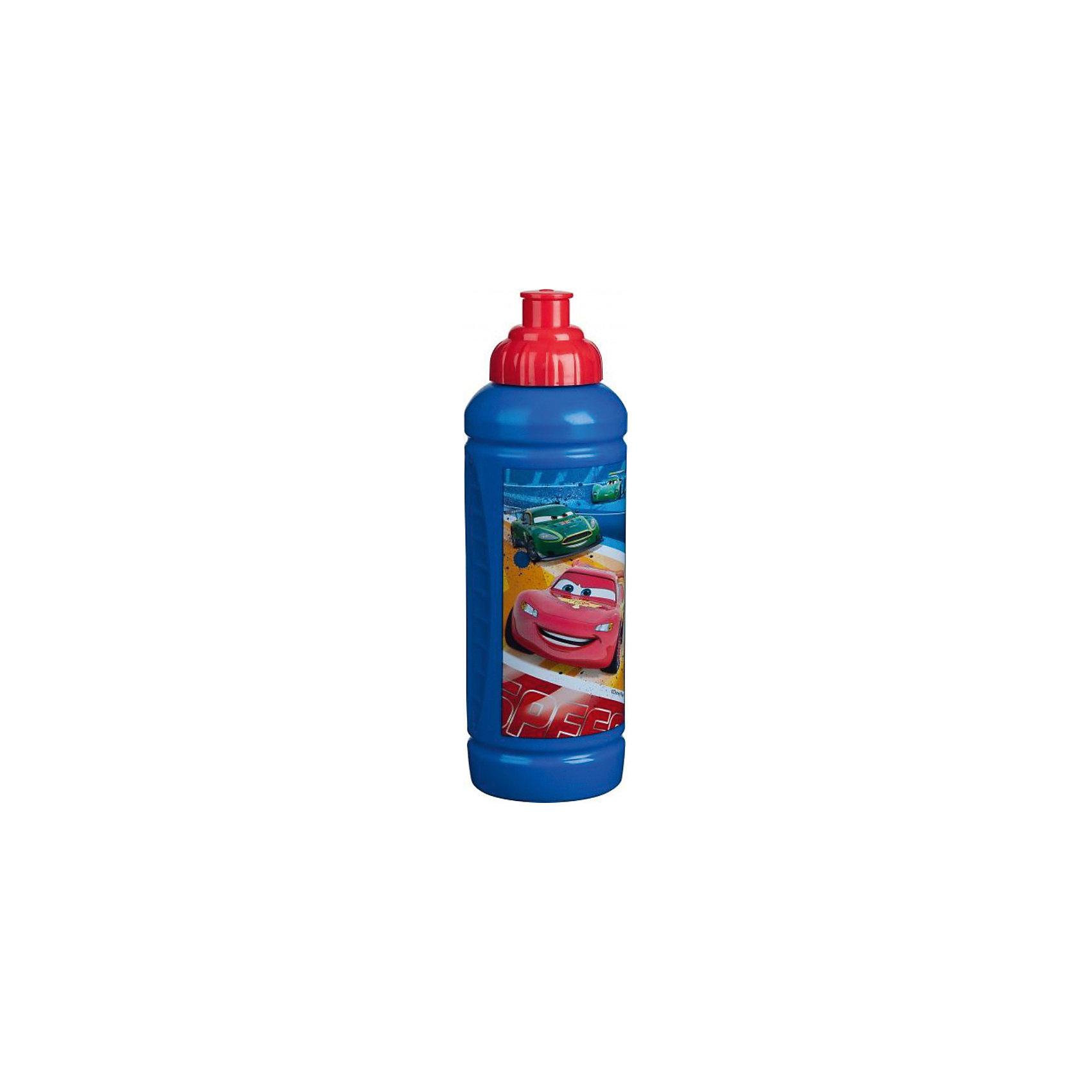 Бутылка Тачки 425 млДетская посуда Тачки- это посуда для детей, выполненная из пластика, на которой в ярких и радужных красках изображены герои из обожаемых детьми мультфильмов. Из бутылки очень удобно пить, так как она имеет дозатор и закрывающийся механический клапан, который позволит использовать бутылку даже во время поездок в автомобиле.<br><br>Дополнительная информация:<br><br>- Материал: пластик.<br>- Объем: 425 мл. <br><br>Бутылку Тачки (Cars) можно купить в нашем магазине.<br><br>Ширина мм: 60<br>Глубина мм: 60<br>Высота мм: 195<br>Вес г: 54<br>Возраст от месяцев: 36<br>Возраст до месяцев: 108<br>Пол: Мужской<br>Возраст: Детский<br>SKU: 4340581
