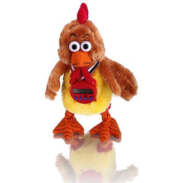 Интерактивная игрушка Забавный петушок, 36 см, MioshiИнтерактивные мягкие игрушки<br>Яркий, забавный петушок непременно понравится вашему ребёнку. Он умеет звонко кукарекать, махать крыльями и шевелить головой. Также на его шее висит таймер - с его помощью можно установить время, через которое петушок начнет кукарекать. Игрушка представлена в красочной упаковке на русском языке, сделана из качественных и безопасных материалов.<br><br>Ширина мм: 180<br>Глубина мм: 100<br>Высота мм: 360<br>Вес г: 597<br>Возраст от месяцев: 36<br>Возраст до месяцев: 72<br>Пол: Унисекс<br>Возраст: Детский<br>SKU: 4342826