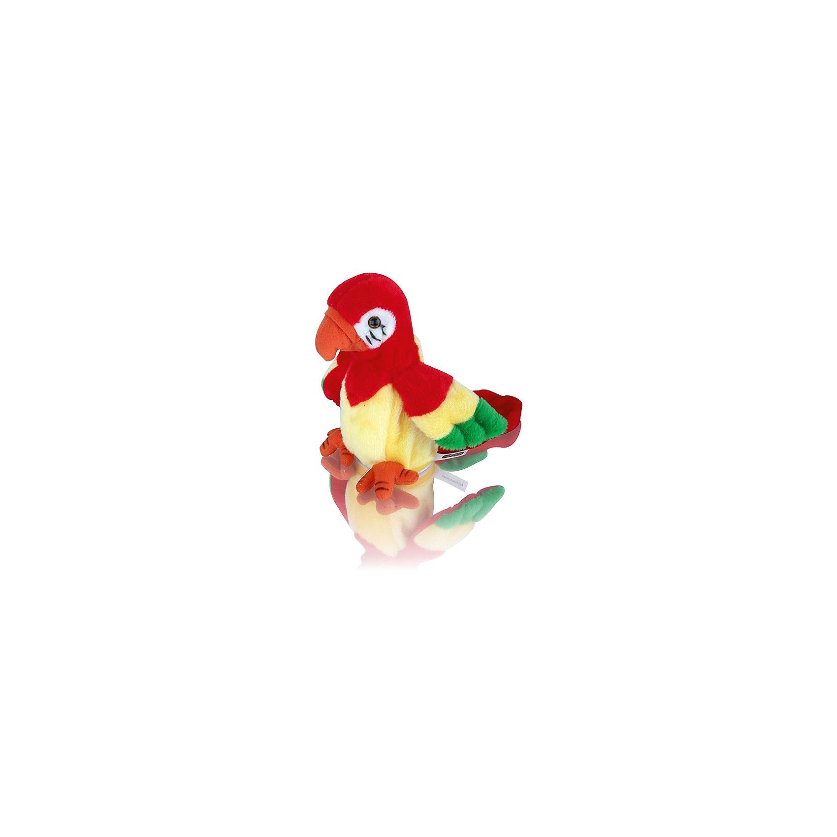 Игрушка-повторюшка Говорящий попугай, 20см, MioshiИгрушка-повторюшка Говорящий попугай, 20см, Mioshi (Миоши)<br><br>Характеристики:<br><br>• умеет повторять звуки и слова<br>• трясет головой<br>• материал: текстиль, мех<br>• высота игрушки: 20 см<br>• размер упаковки: 8,5х8,5х20 см<br><br>Говорящий попугай - потрясающая игрушка, которая понравится каждому ребенку. Мягкий попугайчик повторит за ребенком все слова и звуки, не забывая трясти головой. Попугай очень приятен на ощупь и имеет яркую окраску. С этой игрушкой ваш ребенок не заскучает!<br><br>Игрушку-повторюшку Говорящий попугай, 20см, Mioshi (Миоши) вы можете купить в нашем интернет-магазине.<br><br>Ширина мм: 85<br>Глубина мм: 85<br>Высота мм: 190<br>Вес г: 333<br>Возраст от месяцев: 36<br>Возраст до месяцев: 72<br>Пол: Унисекс<br>Возраст: Детский<br>SKU: 4342827