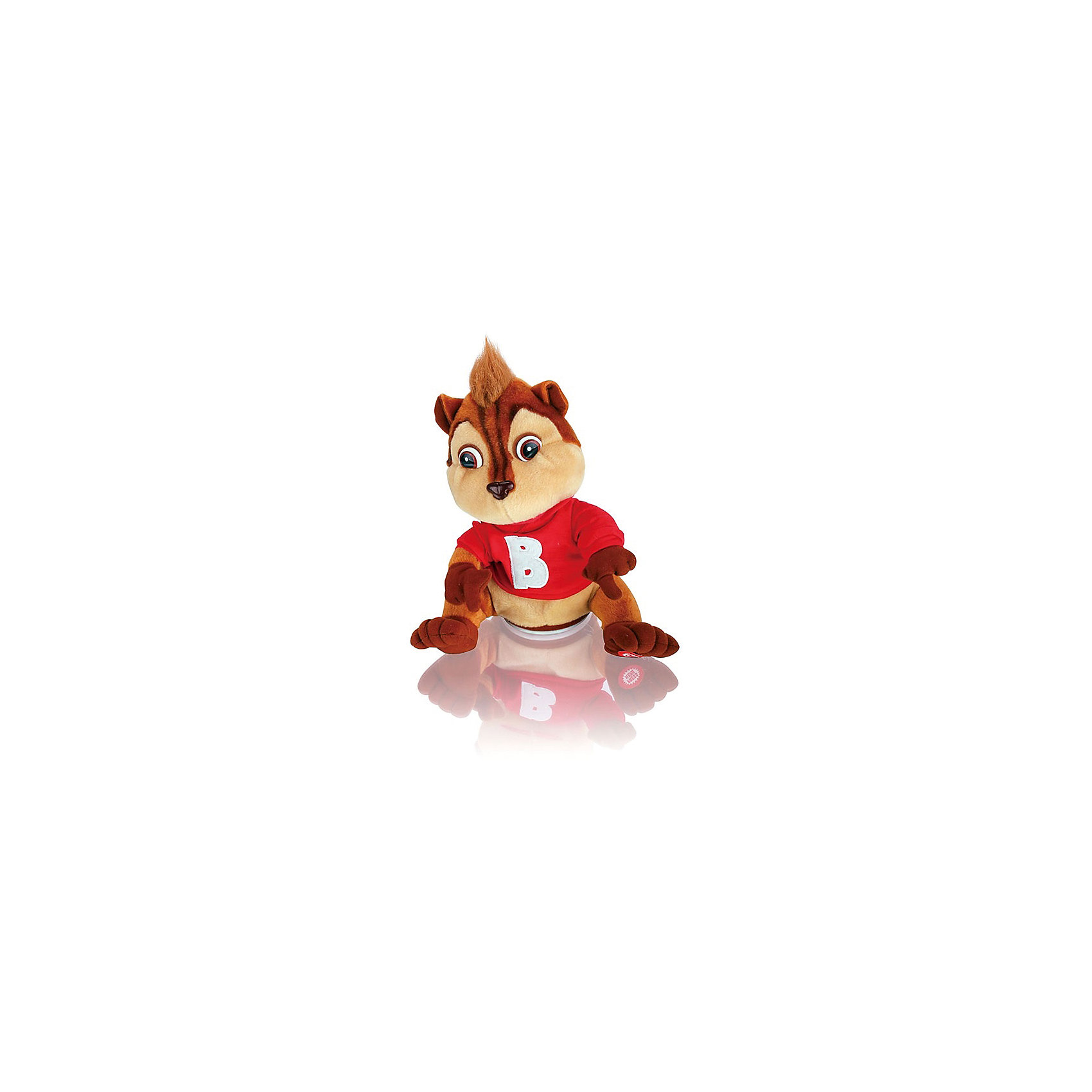 Интерактивная игрушка Музыкальный Бурундук, 24 см, MioshiЗвери и птицы<br>Интерактивная игрушка Музыкальный Бурундук, 24 см, Mioshi (Миоши)<br><br>Характеристики:<br><br>• умеет танцевать и двигать головой<br>• приятен на ощупь<br>• материал: текстиль, мех<br>• размер упаковки: 17х17х26 см<br>• вес: 300 грамм<br><br>Забавный бурундук поднимет настроение вашему малышу. Нажмите игрушке на лапку - она начнет весело двигаться под музыку и забавно двигать головой. Бурундук приятен на ощупь, имеет приятный окрас и яркий свитер. Такая интересная игрушка подарит море положительных эмоций ребенку!<br><br>Интерактивную игрушку Музыкальный Бурундук, 24 см, Mioshi (Миоши) вы можете купить в нашем интернет-магазине.<br><br>Ширина мм: 170<br>Глубина мм: 170<br>Высота мм: 260<br>Вес г: 426<br>Возраст от месяцев: 36<br>Возраст до месяцев: 72<br>Пол: Унисекс<br>Возраст: Детский<br>SKU: 4342828