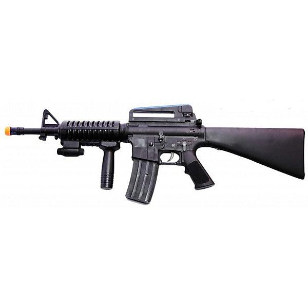 Автомат Вооружение спецназа, со звуком и светом, Mioshi ArmyИгрушечные пистолеты и бластеры<br>Автомат со звуковыми эффектами, подсветкой и режимом вибрации. Изготовлен из прочного пластика высокого качества. Почувствуй себя настоящим бойцом спецназа!  Материал: пластик. В комплект входят 4 батарейки типа АА<br>Ширина мм: 480; Глубина мм: 250; Высота мм: 50; Вес г: 846; Возраст от месяцев: 36; Возраст до месяцев: 72; Пол: Мужской; Возраст: Детский; SKU: 4342842;