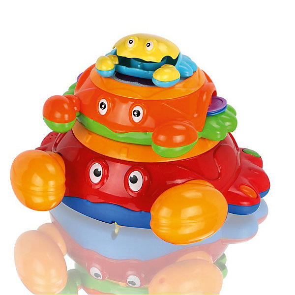 Музыкальная игрушка Крабики, МалышарикиРазвивающие игрушки<br>материал - пластик<br>Ширина мм: 310; Глубина мм: 245; Высота мм: 270; Вес г: 1066; Возраст от месяцев: 12; Возраст до месяцев: 36; Пол: Унисекс; Возраст: Детский; SKU: 4342852;