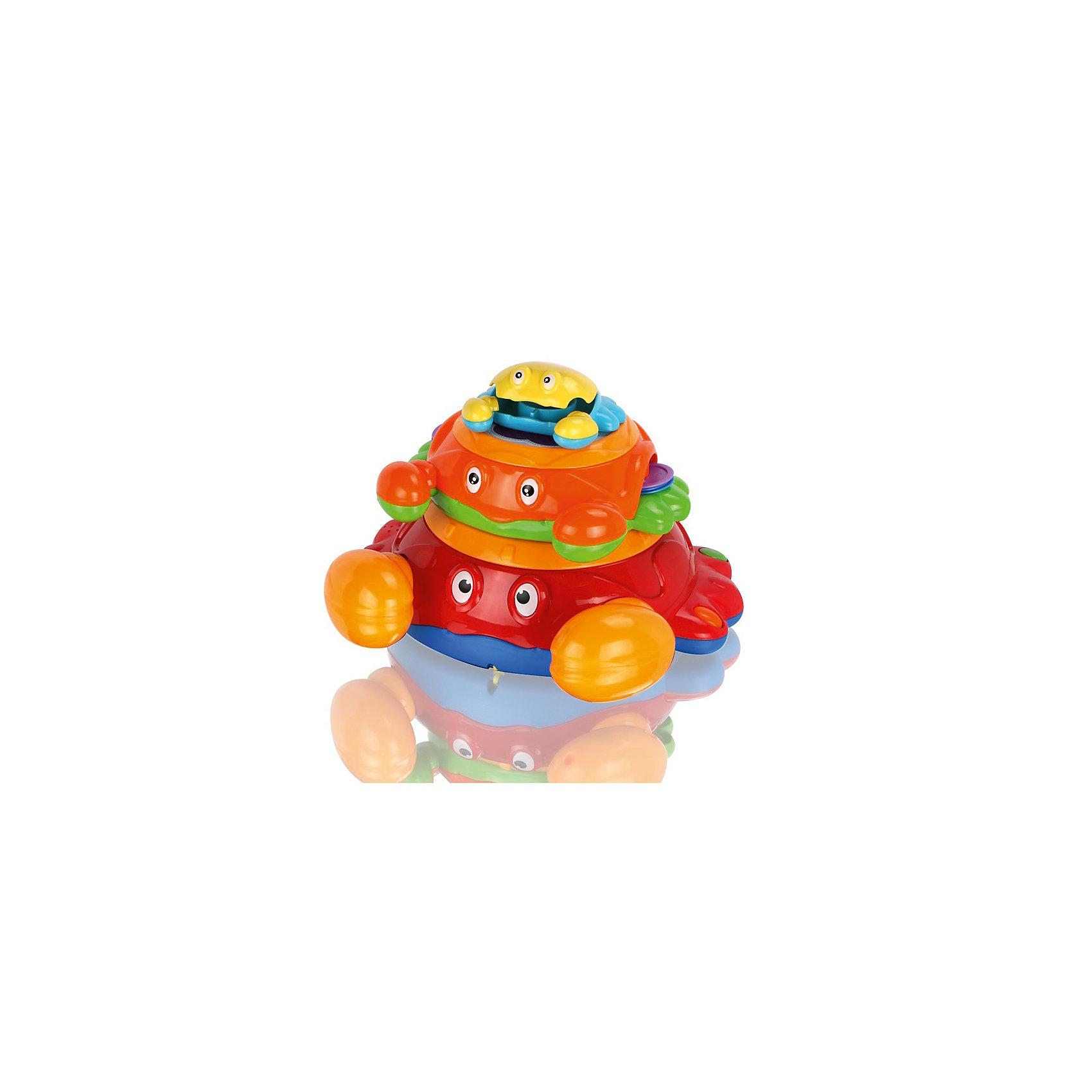Музыкальная игрушка Крабики, МалышарикиПирамидки<br>материал - пластик<br><br>Ширина мм: 310<br>Глубина мм: 245<br>Высота мм: 270<br>Вес г: 1066<br>Возраст от месяцев: 12<br>Возраст до месяцев: 36<br>Пол: Унисекс<br>Возраст: Детский<br>SKU: 4342852
