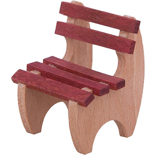 Садовый стульчик для мини-куколМебель для кукол<br>Садовый стульчик для мини-кукол - игрушечная мебель, помогающая создать реалистичную атмосферу в сюжетно-ролевой игре.<br>Садовый стульчик подойдет для миниатюрной куклы PUPSIQUE, высотой 7 см. Деревянный стульчик выполнен аккуратно и качественно. Вся мебель для кукол PUPSIQUE изготавливается на фабрике в Германии. В производстве кукольной мебели используются качественные породы бука и клена. Маленький размер игрушек позволяет играть в абсолютно любом месте, их удобно брать с собой на занятия или увлекательно проводить время в дороге во время путешествий.<br><br>Дополнительная информация:<br><br>- Материал: древесина<br>- Размер упаковки: 4 х 4,5 х 5,5 см.<br>- Вес: 100 гр.<br><br>Садовый стульчик для мини-кукол можно купить в нашем интернет-магазине.<br><br>Ширина мм: 40<br>Глубина мм: 456<br>Высота мм: 52<br>Вес г: 100<br>Возраст от месяцев: 36<br>Возраст до месяцев: 192<br>Пол: Женский<br>Возраст: Детский<br>SKU: 4344929