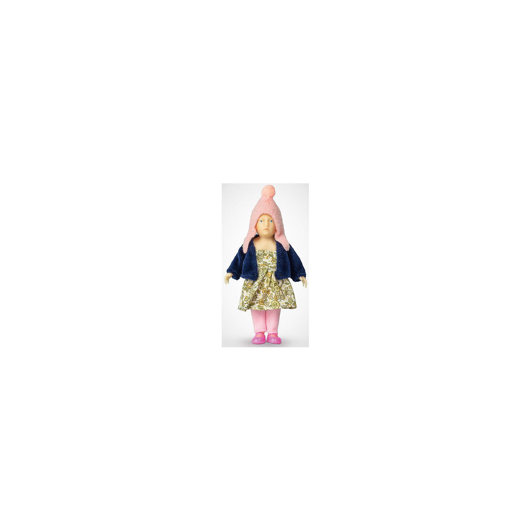 Мини-кукла Девочка в пестром платье, PUPSIQUEМини-кукла Девочка в пестром платье, PUPSIQUE – эта кукла-пупс специально создана для увлекательных игр и коллекционирования.<br>Миниатюрная кукла Девочка в пестром платье - это авторское произведение, где детально соблюдены пропорции и особенности человеческого тела. Игрушка не имеет аналогов в мире - лицо расписано вручную, а одета кукла в оригинальную дизайнерскую одежду: пестрое платье, темно-синий жакет, розовые шапочку и штанишки. Главное, что отличает куклу-пупса - это идеальное сходство с человеком. Малышка словно живая. Кукла имеет 5 точек артикуляции: подвижные голова, руки и ноги. Игрушка изготовлена из высококачественного гипоаллергенного материала. Маленький размер куклы позволяет играть в абсолютно любом месте, ее удобно брать с собой на занятия или весело проводить время в дороге во время путешествий. Для создания увлекательных игровых сцен с миниатюрной куклой можно дополнять игру различными аксессуарами и новой одеждой.<br><br>Дополнительная информация:<br><br>- Высота куклы: 11 см.<br>- Материал: винил, текстиль<br>- Размер упаковки: 15 х 2,6 х 26 см.<br>- Вес: 670 гр.<br><br>Мини-куклу Девочка в пестром платье, PUPSIQUE можно купить в нашем интернет-магазине.<br><br>Ширина мм: 150<br>Глубина мм: 26<br>Высота мм: 260<br>Вес г: 670<br>Возраст от месяцев: 36<br>Возраст до месяцев: 192<br>Пол: Женский<br>Возраст: Детский<br>SKU: 4344936