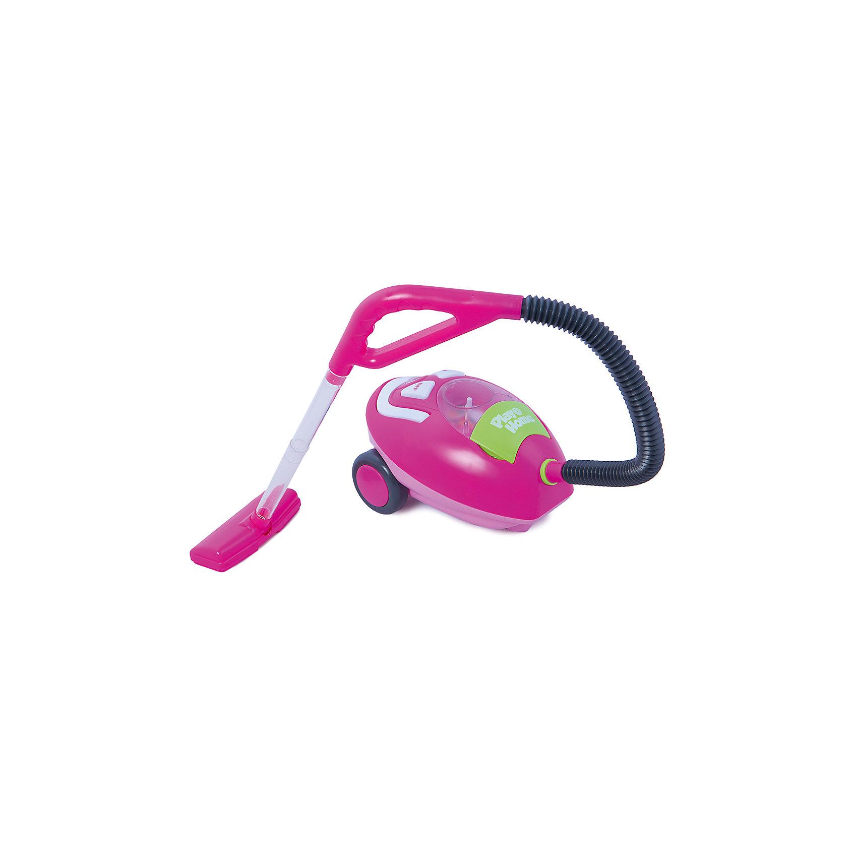 Пылесос, KeenwayИгрушечная бытовая техника<br>Этот пылесос выглядит как настоящий и ,несомненно, порадует любую девочку. Позвольте малышке почувствовать себя настоящей хозяйкой! Пылесос передвигается с помощью двух больших колес, при включении  загорается лампочка, игрушка начинает работать и жужжать, а спрятанные внутри шарики перемещаются в своем отсеке, создавая иллюзию всасывания мусора и уборки. Пылесос может всасывать мелкий мусор, который собирается в специальный отсек. Игрушка выполнена из высококачественного пластика, не имеют острых углов, безопасна для детей. Игровые наборы Маленькая хозяюшка развивают социальные навыки, прививают у ребенка любовь к труду. <br><br>Дополнительная информация:<br><br>- Комплектация: элементы пылесоса и набор шариков.<br>- Размер пылесоса: 27х14х16 см.<br>- Размер насадки: 15х6,5х3 см.<br>- Длина шланга с ручкой: 60 см. <br>- Удобная ручка для переноски. <br>- Световые, звуковые эффекты.<br>- Может всасывать мелкий мусор.<br>- Элемент питания: 3 С батарейки  (в комплект не входят).<br><br>Пылесос, Keenway, можно купить в нашем магазине.<br><br>Ширина мм: 170<br>Глубина мм: 230<br>Высота мм: 340<br>Вес г: 1395<br>Возраст от месяцев: 36<br>Возраст до месяцев: 84<br>Пол: Женский<br>Возраст: Детский<br>SKU: 4345022