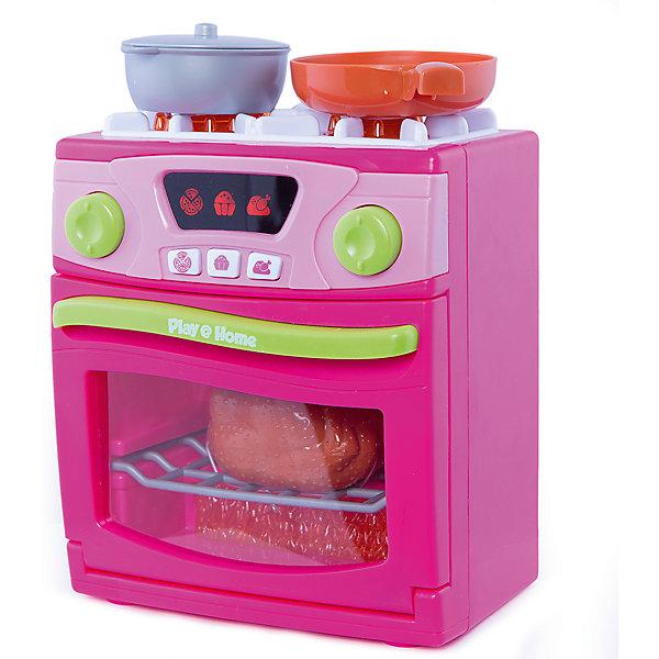 Плита (звук, свет), KeenwayИгрушечная бытовая техника<br>Реалистично выполненная плита выглядит как настоящая что, несомненно, порадует любую девочку. Позвольте малышке почувствовать себя настоящей хозяйкой! Плита имеет две конфорки и духовой шкаф, в ней есть настоящий ЖК-дисплей, на котором отображаются режимы приготовления и кнопки  для запуска программ. Для того чтобы включить конфорки, нужно повернуть регулятор над нужной конфоркой, при этом слышен звук поджига конфорки и готовящейся еды. Световые эффекты, имитирующие огонь, создают видимость того, что духовой шкаф или выбранная конфорка действительно работают. Игрушка выполнена из высококачественного пластика, не имеют острых углов, безопасна для детей. Игровые наборы Маленькая хозяюшка развивают социальные навыки, прививают у ребенка любовь к труду. <br><br>Дополнительная информация:<br><br>- Комплектация: газовая плита, кастрюля, курица, сковорода с яичницей с беконом.<br>- Размер плиты: 17,5х20х11 см.<br>- Световые, звуковые эффекты.<br>- Элемент питания: 3 батарейки типа АА (в комплекте).<br><br>Плиту (звук, свет), Keenway, можно купить в нашем магазине.<br><br>Ширина мм: 400<br>Глубина мм: 90<br>Высота мм: 410<br>Вес г: 1005<br>Возраст от месяцев: 36<br>Возраст до месяцев: 84<br>Пол: Женский<br>Возраст: Детский<br>SKU: 4345023