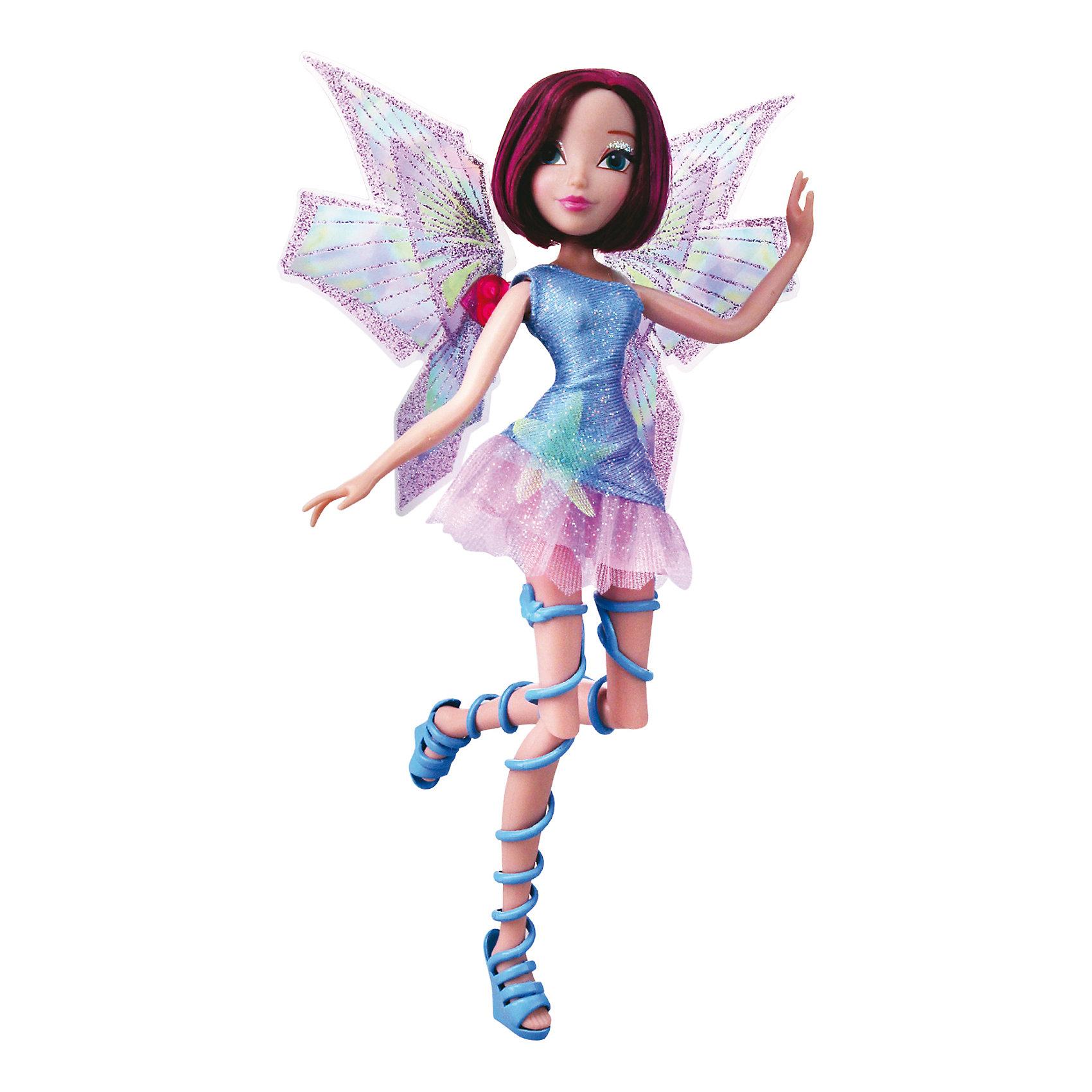Кукла Winx Club Мификс ТехнаWinx Club<br>Очаровательные куколки выглядят в точности так же, как и героини мультсериала «Winx Club» (Винкс Клуб). Красавица -Техна одета в блестящее платье с приталенным лифом и пышной юбкой, на ногах куколки - оригинальные босоножки, в руках- волшебный скипетр. Мягкие волосы очень приятно расчесывать. Позвольте вашей девочке почувствовать себя настоящей феей вместе с любимыми героинями. Собери все куколок, проигрывай запомнившиеся моменты из мультсериала или придумывай свои новые истории! <br><br>Дополнительная информация:<br><br>- Комплектация: кукла, скипетр, съемные крылья, одежда, обувь.<br>- Материал:  пластик, текстиль. <br>- Высота куклы: 27 см.<br>- Голова, руки, ноги подвижные. <br><br>Куклу Winx Club Мификс, Техну, можно купить в нашем магазине.<br><br>Ширина мм: 290<br>Глубина мм: 60<br>Высота мм: 345<br>Вес г: 375<br>Возраст от месяцев: 36<br>Возраст до месяцев: 84<br>Пол: Женский<br>Возраст: Детский<br>SKU: 4345030