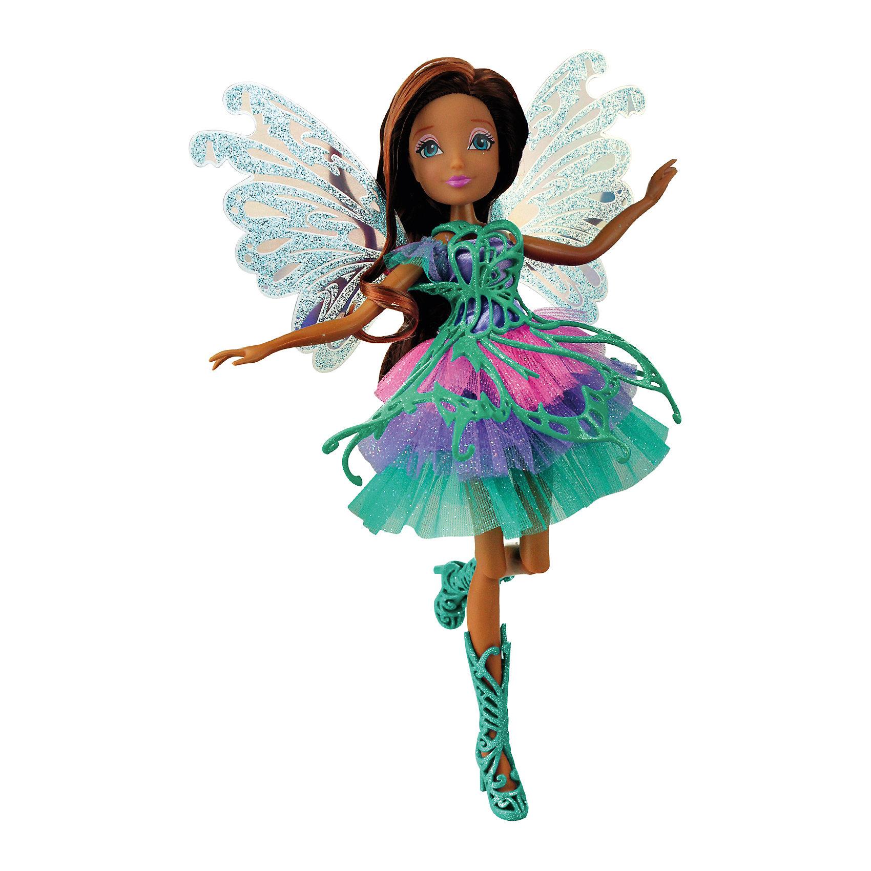 - Кукла Winx Club Баттерфликс Лейла куклы winx кукла winx club баттерфликс 2 двойные крылья flora