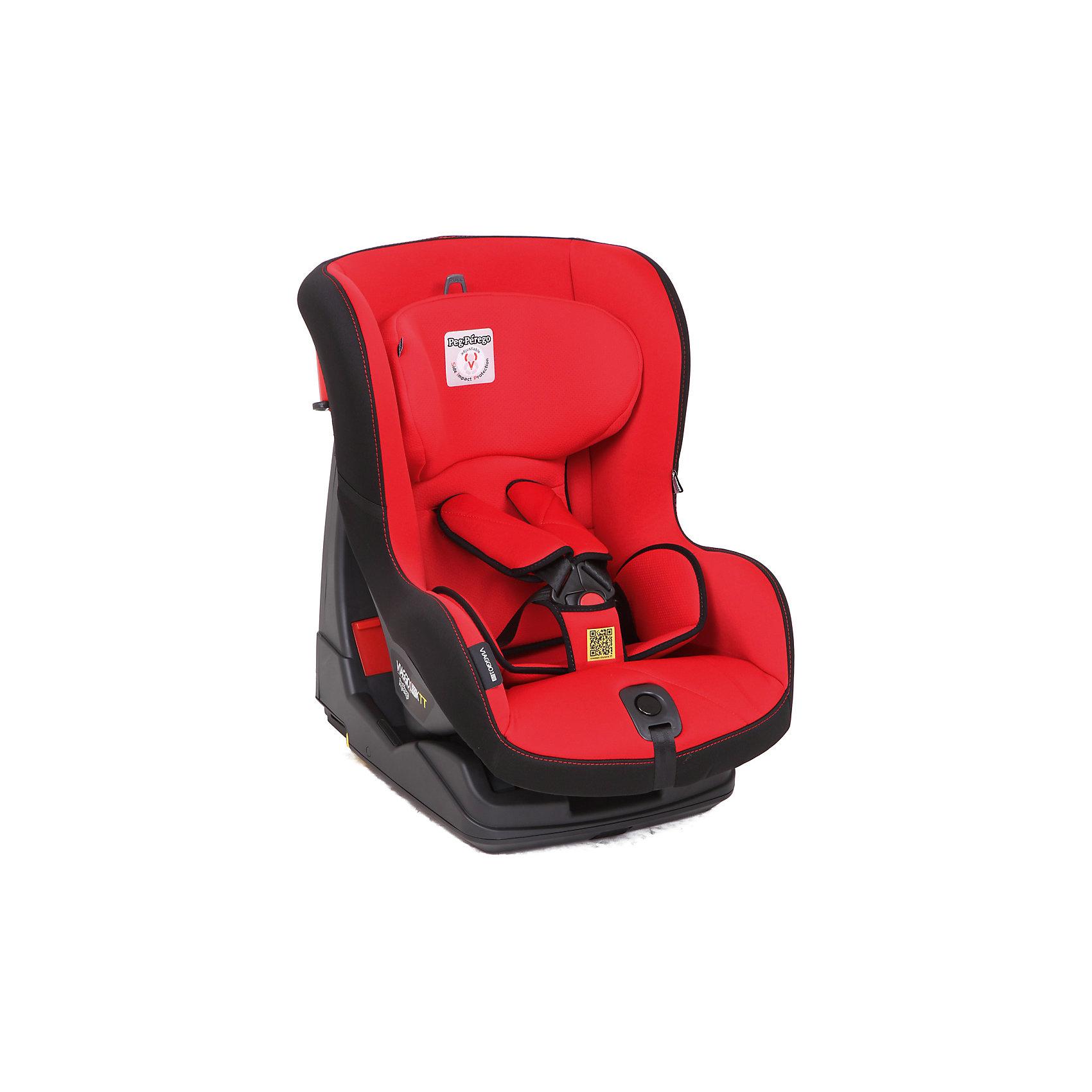 Автокресло Peg Perego Viaggio Duo-Fix, 9-18 кг, красныйГруппа 1 (от 9 до 18 кг)<br>Автокресло Viaggio Duo-Fix, Peg Perego (Пег-Перего) - комфортная надежная модель, которая сделает поездку Вашего ребенка приятной и безопасной. Сиденье кресла с мягкой анатомической подушкой и регулируемым подголовником обеспечивает комфорт во время длительных поездок. По мере подрастания ребенка подушку можно убрать, увеличив тем самым размер сиденья. Наклон спинки можно регулировать в 4 положениях, что позволяет выбрать наиболее удобное для ребенка. Кресло оснащено регулируемыми 5-точечными ремнями безопасности с мягкими плечевыми накладками и централизованной регулировкой натяжения. <br><br>Усиленная боковая защита убережёт ребёнка от серьезных травм. Автокресло устанавливается лицом вперед, по ходу движения автомобиля с помощью штатных ремней безопасности или с помощью универсальной базы Isofix 0+1 (не входит в комплект). Обивка кресла изготовлена из высококачественных материалов, тканевые гипоаллергенные чехлы снимаются для чистки или стирки. Автокресло имеет стандарт безопасности ECE R 44/04. Рассчитано на детей от 1 года до 4 лет, весом 9-18 кг.<br><br>Дополнительная информация:<br><br>- Цвет: красный. <br>- Материал: текстиль, пластик.<br>- Возраст: 1-4 года (9-18 кг.)<br>- Размер: 65,5 х 55 х 45 см. <br>- Вес: 13 кг.<br><br>Автокресло Viaggio Duo-Fix, 9-18 кг., Peg Perego (Пег-Перего), красный, можно купить в нашем интернет-магазине.<br><br>Ширина мм: 960<br>Глубина мм: 700<br>Высота мм: 500<br>Вес г: 13000<br>Цвет: красный<br>Возраст от месяцев: 9<br>Возраст до месяцев: 48<br>Пол: Унисекс<br>Возраст: Детский<br>SKU: 4347281