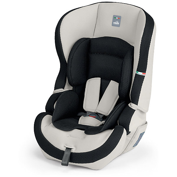 Автокресло CAM Travel Evolution, 9-36 кг, черный/серыйГруппа 1-2-3  (от 9 до 36 кг)<br>Автокресло Travel Evolution, CAM - комфортная надежная модель, которая сделает поездку Вашего ребенка приятной и безопасной. Благодаря особой конструкции автокресло может использоваться в течении длительного времени и охватывает весовые категории детей от 1 года до 12 лет. Комфортное кресло оснащено ортопедической спинкой, которая регулируется в двух положениях и обеспечивает удобство сидения во время длительных поездок. Для малышей предусмотрен мягкий анатомический вкладыш. Пятиточечные ремни безопасности с мягкими плечевыми накладками регулируются по росту ребенка (три положения высоты внутренних ремней). Усиленная боковая защита убережёт ребёнка от серьезных травм.<br><br>Автокресло легко и надежно устанавливается на заднее сиденье автомобиля по ходу движения. Для детей постарше (2-й группы, 3 -7 лет) ремни автокресла можно снять и использовать штатные ремни автомобиля, которые фиксируются специальными ограничителями. Для детей 3-й группы (6-12 лет) съемная спинка демонтируется и сиденье используется качестве бустера. Кресло изготовлено из высококачественных материалов, износостойкие тканевые чехлы снимаются для чистки или стирки при температуре 30 градусов. Рассчитано на детей от 1 года до 12 лет, весом 9-36 кг.<br><br>Дополнительная информация: <br><br>- Цвет: черный/серый.<br>- Вес ребенка: 9-36 кг. ( 1-12 лет).<br>- Группа 1-2-3.<br>- Материал: пластик, текстиль. <br>- Внешние размеры: 49,5 x 51 x 65 см. <br>- Вес: 5,5 кг.<br><br>Автокресло Travel Evolution, 9-36 кг., CAM, черный/серый, можно купить в нашем интернет-магазине.<br><br>Ширина мм: 800<br>Глубина мм: 460<br>Высота мм: 450<br>Вес г: 5500<br>Цвет: черный/белый<br>Возраст от месяцев: 12<br>Возраст до месяцев: 144<br>Пол: Унисекс<br>Возраст: Детский<br>SKU: 4347286
