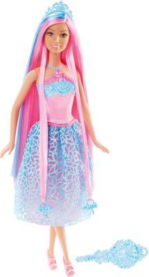 Mattel Кукла Принцесса с розовыми волосами, Barbie