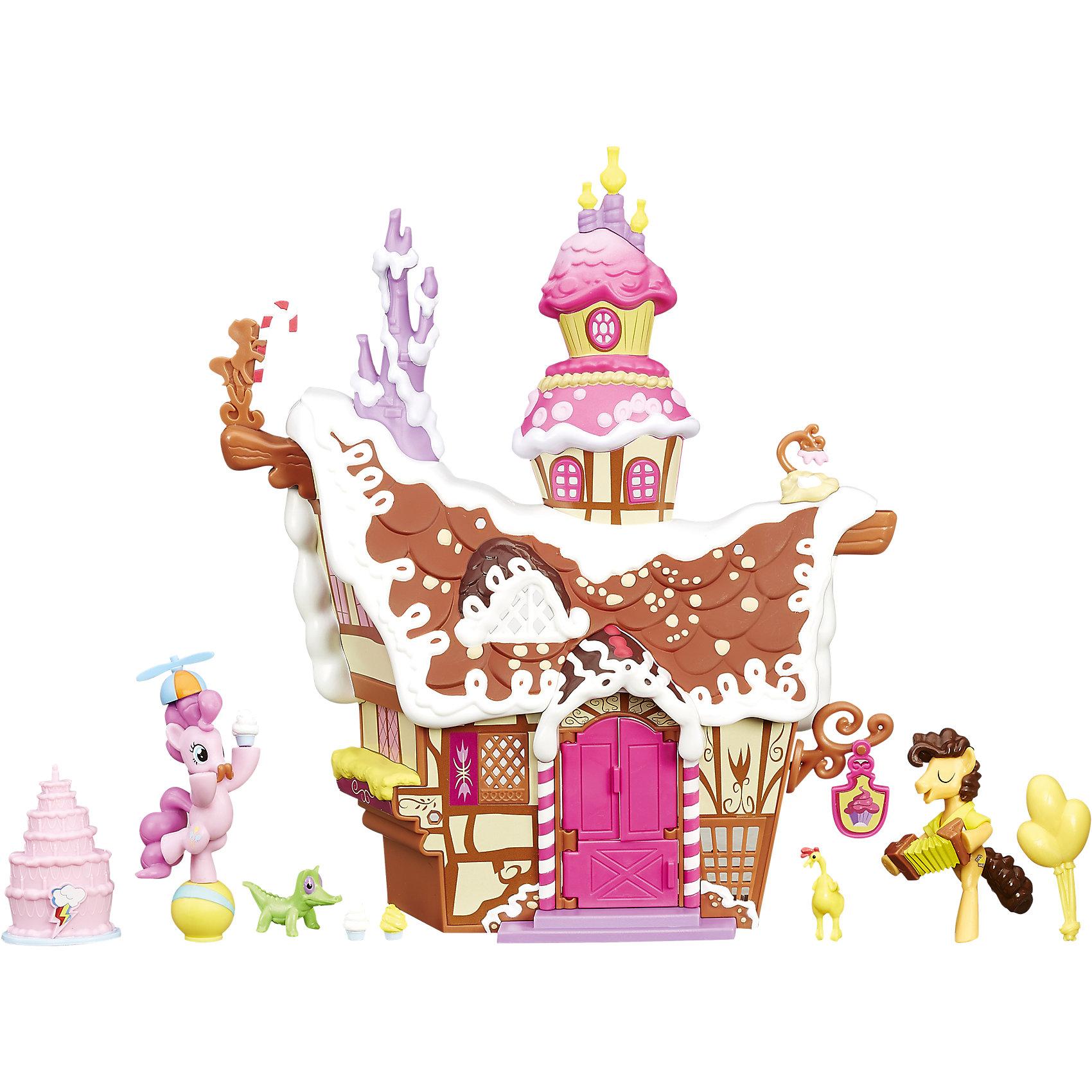 Коллекционный игровой набор пони Сахарный дворец, My little Pony<br><br>Ширина мм: 320<br>Глубина мм: 253<br>Высота мм: 84<br>Вес г: 438<br>Возраст от месяцев: 48<br>Возраст до месяцев: 72<br>Пол: Женский<br>Возраст: Детский<br>SKU: 4351487