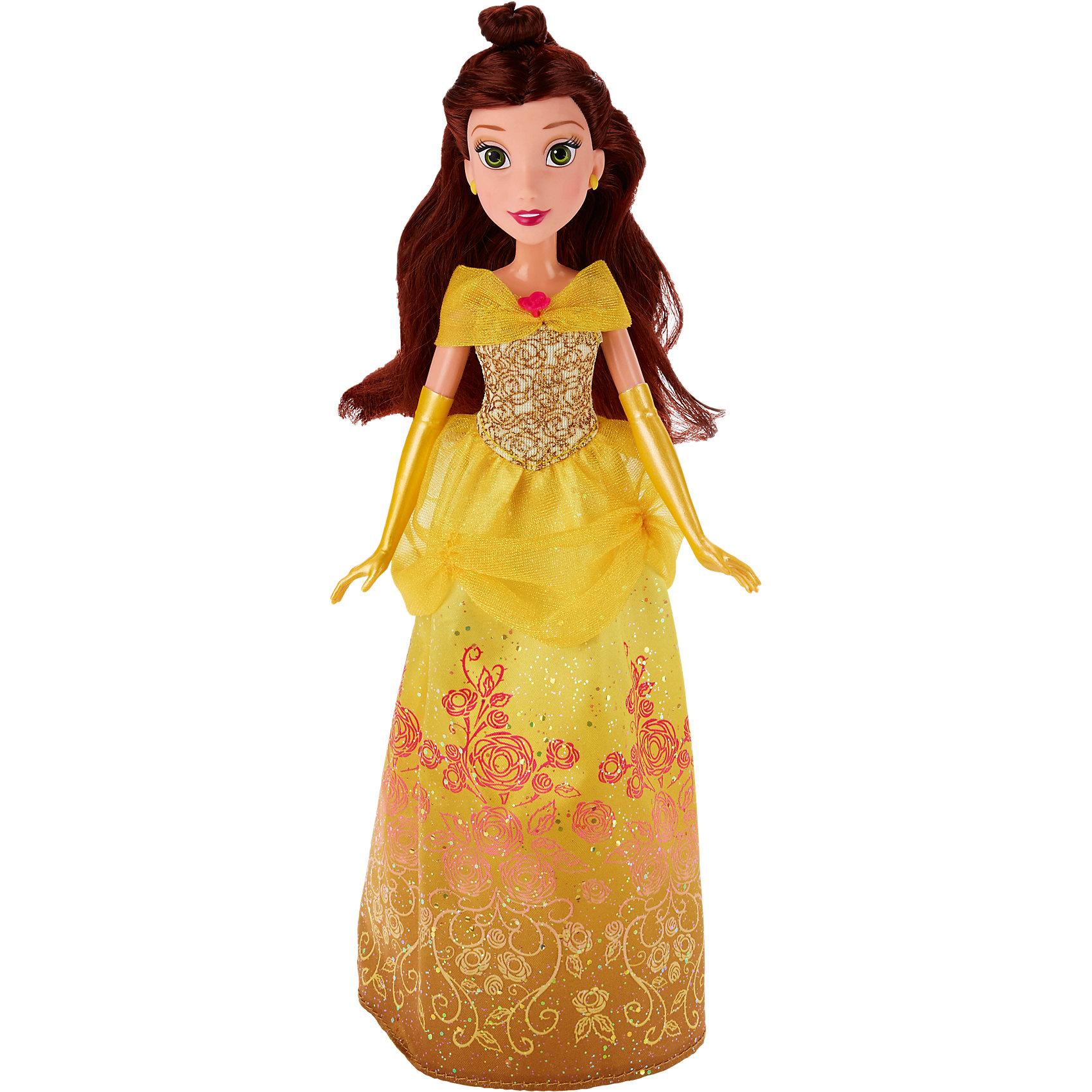 Классическая кукла Белль, Принцессы ДиснейКлассическая кукла Белль, Красавица и Чудовище - игрушка, которая наверняка порадует вашего ребенка.<br>Красавица Белль - главная героиня мультфильма Красавица и чудовище. Больше всего на свете девушка любит читать книги и тратит на любимое занятие все свободное время. Жители небольшой французской деревушки, где родилась Белль, считают ее самым красивым созданием на свете. <br><br>Дополнительная информация:<br><br>В комплекте: кукла Белль<br>Размер: 28 см<br>Материалы: пластмасса, текстиль.<br>Размер упаковки: 15 x 5 x 36 см.<br>Вес: 0,31 кг.<br><br>Классическую куклу Белль, Принцессы Дисней, можно купить в нашем интернет-магазине.<br><br>Ширина мм: 322<br>Глубина мм: 152<br>Высота мм: 53<br>Вес г: 179<br>Возраст от месяцев: 36<br>Возраст до месяцев: 72<br>Пол: Женский<br>Возраст: Детский<br>SKU: 4351496
