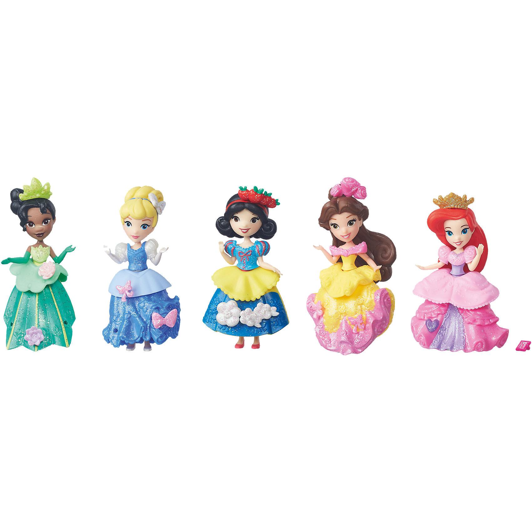 Набориз 5 мини-кукол, Принцессы ДиснейПопулярные игрушки<br><br><br>Ширина мм: 302<br>Глубина мм: 256<br>Высота мм: 63<br>Вес г: 233<br>Возраст от месяцев: 36<br>Возраст до месяцев: 72<br>Пол: Женский<br>Возраст: Детский<br>SKU: 4351515