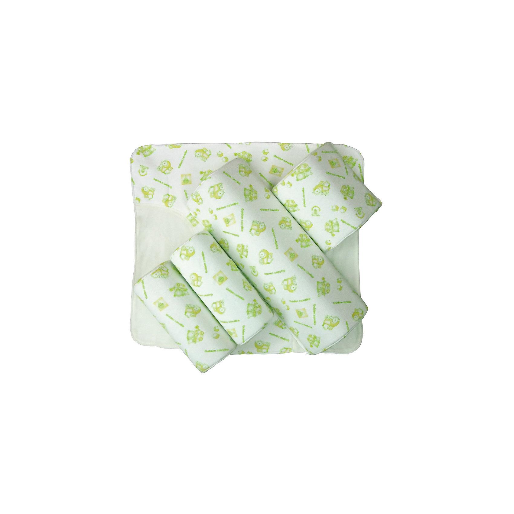 Подушка для младенца комплект - трансформер, SelbyПодушки<br>Подушка для младенца комплект - трансформер, Selby (Селби) – это незаменимый помощник для отдыха и комфорта вашего малыша.<br>Подушка для младенца состоит из валиков разного размера, которые легко крепятся к ворсистой части основания-простынки и ограничивают смещения тела и головы ребенка во время сна. Использование подушки позволяет зафиксировать ребенка в нужном положении, предупреждает травмы и падение малыша. Рекомендуется детям в возрасте до 6 месяцев.<br><br>Дополнительная информация:<br><br>- В наборе 4 мягких валика: большой (35 см), 2 средних (19 см), малый (14 см)<br>- Материал верха: 100% хлопок<br>- Наполнитель: пенополиуретан<br><br>Подушку для младенца комплект - трансформер, Selby (Селби) можно купить в нашем интернет-магазине.<br><br>Ширина мм: 1960<br>Глубина мм: 600<br>Высота мм: 100<br>Вес г: 700<br>Возраст от месяцев: 0<br>Возраст до месяцев: 36<br>Пол: Унисекс<br>Возраст: Детский<br>SKU: 4354319