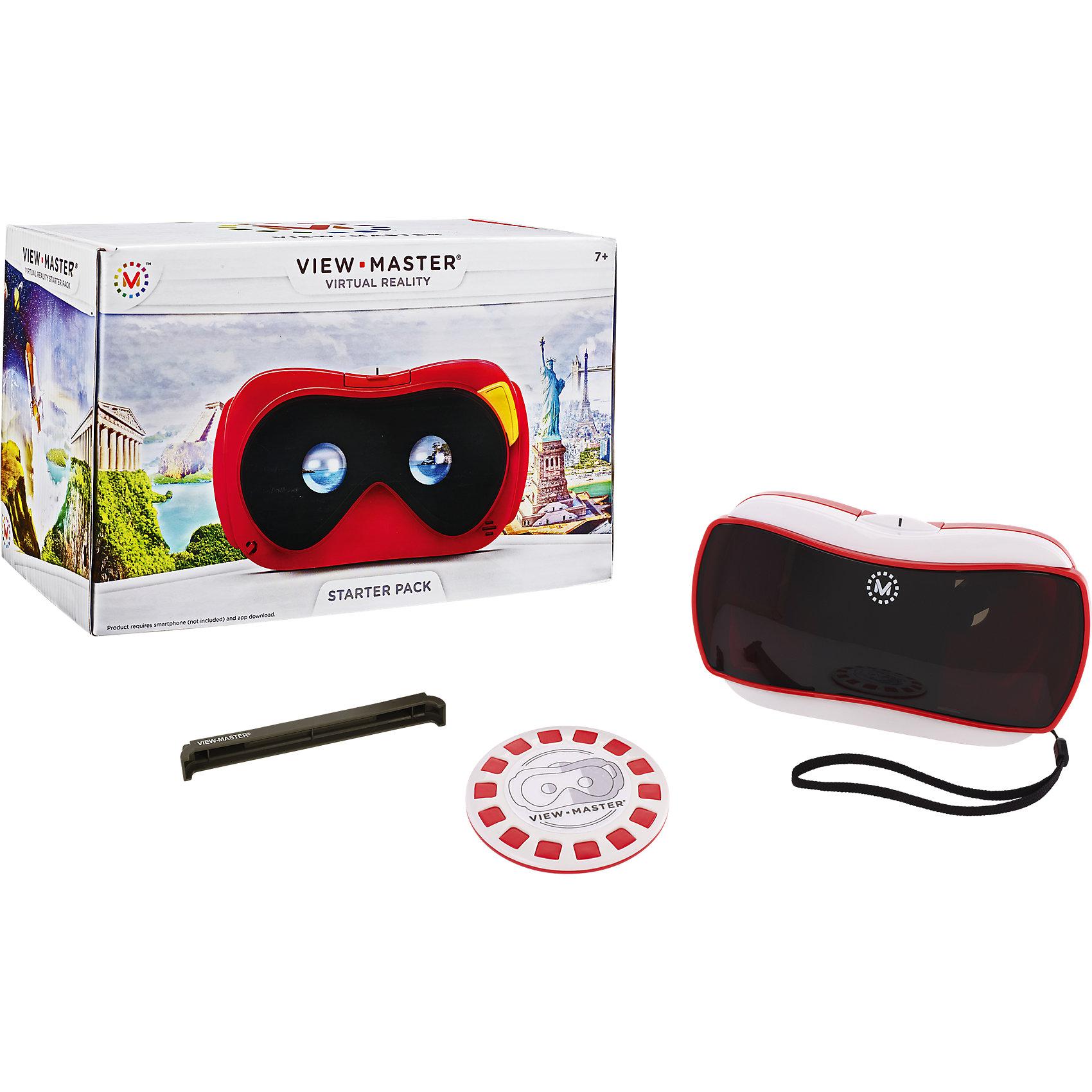 Виртуальные очки View MasterИгры и Пазлы<br>Характеристики:<br><br>• Вид игр: обучающие<br>• Пол: универсальный<br>• Цвет: черный, красный, белый<br>• Материал: пластик<br>• Изображение: 3d картинка<br>• Подзарядка устройства производится от смартфона<br>• Для просмотра требуется смартфон с установленным приложением<br>• Приспособление для закрепления смартфона<br>• Тип упаковки: картонная коробка<br>• Размеры (Д*Ш*В): 23,4*12,7*14,6<br>• Вес: 595 г<br><br>Виртуальные очки View Master – инновационная новинка от лидера детских товаров и развивающих игрушек – Mattel. Виртуальные очки позволят совершить увлекательное путешествие в мир природы. Приспособление изготовлено из безопасного и ударопрочного пластика, в котором имеется отверстие для закрепления смартфона. Очки имеют легкий вес и компактный размер, поэтому их можно брать с собой в дальние путешествия.<br><br>Виртуальные очки View Master, Mattel можно купить в нашем интернет-магазине.<br><br>Ширина мм: 244<br>Глубина мм: 151<br>Высота мм: 135<br>Вес г: 674<br>Возраст от месяцев: 84<br>Возраст до месяцев: 132<br>Пол: Унисекс<br>Возраст: Детский<br>SKU: 4355889