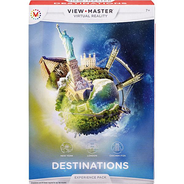 Набор визуализаций: Достопримечательности, View-MasterДетские гаджеты<br>Набор визуализаций: Достопримечательности, View-Master (Вью мастер)<br><br>Характеристики:<br><br>• вы сможете побывать в нескольких городах мира и оценить их достопримечательности<br>• в комплекте: карта доступа, 3 фишки<br>• материал: картон, пластик<br>• необходимо приложение View-Master и очки виртуальной реальности View-Master (продаются отдельно)<br>• диаметр фишки: 9 см<br>• размер упаковки: 19х13х2.5 см<br>• вес: 100 грамм<br><br>В современном мире можно путешествовать, не выходя из дома. Скачайте на свой смартфон приложение View-Master, вставьте смартфон в очки виртуальной реальности и наслаждайтесь видом известных достопримечательностей мира! Вы сможете увидеть Статую Свободы, Тауэрский мост и посетить город Майя. Для работы необходимы очки виртуальной реальности (продаются отдельно).<br><br>Набор визуализаций: Достопримечательности, View-Master (Вью мастер) вы можете купить в нашем интернет-магазине.<br><br>Ширина мм: 188<br>Глубина мм: 134<br>Высота мм: 35<br>Вес г: 214<br>Возраст от месяцев: 84<br>Возраст до месяцев: 132<br>Пол: Унисекс<br>Возраст: Детский<br>SKU: 4355890