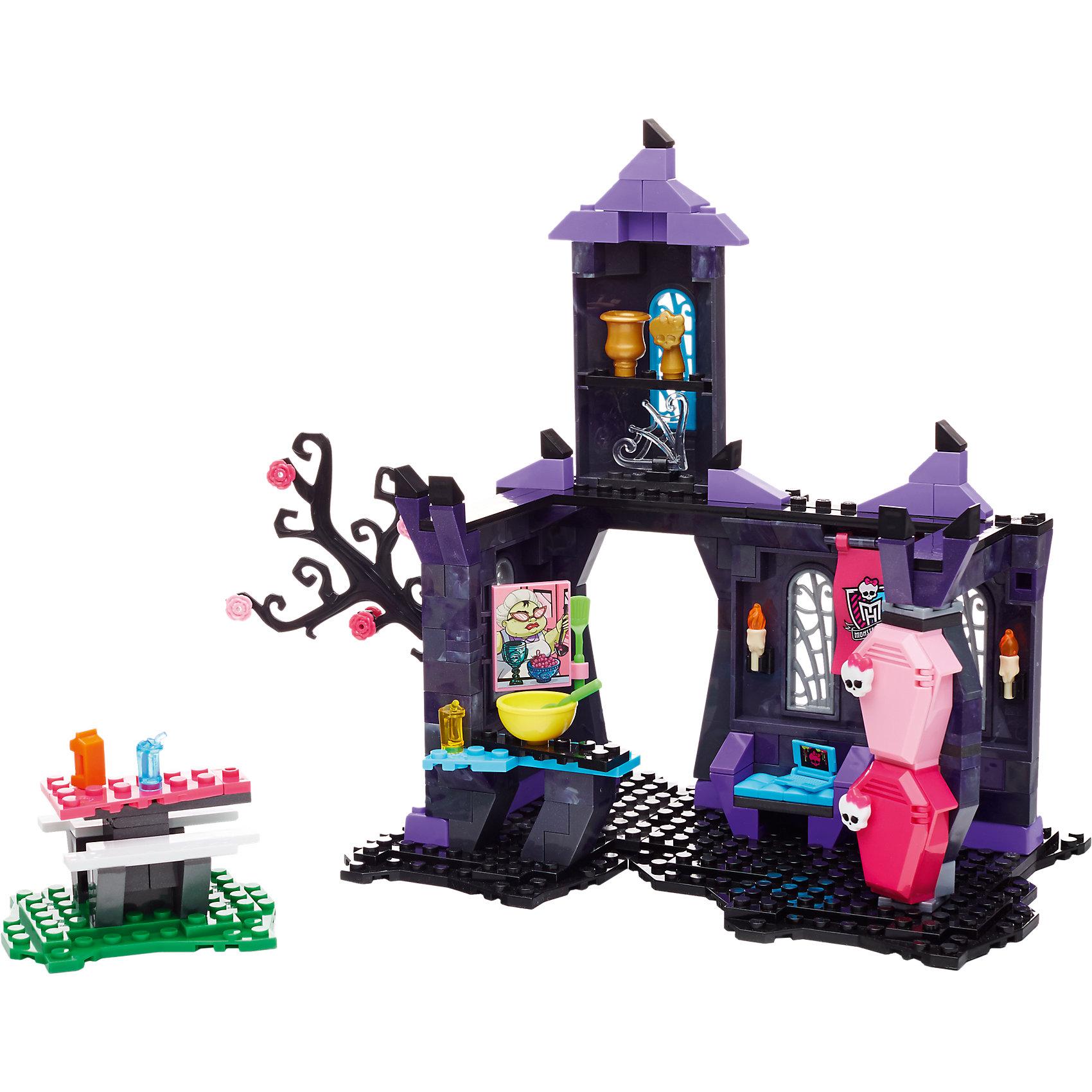MEGA BLOKS Игровой набор Monster High Столовая Монстров, MEGA BLOKS mega bloks игровой набор обед с собой mega bloks