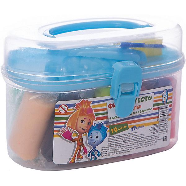Набор теста для лепки Фиксики в сундуке,  14 цветовПопулярные игрушки<br>Набор теста для лепки Фиксики замечательно подойдет для детского творчества и превратит лепку в увлекательное занятие. Яркие разнообразные цвета открывают ребенку простор для творческих экспериментов и позволят создавать различные фигурки и поделки. Мягкое тесто обладает отличными пластичными свойствами, не пачкается и не липнет к рукам, полностью застывает на открытом воздухе в течение суток. Цвета отлично смешиваются между собой, образуя новые оттенки. Тесто каждого цвета хранится в отдельном пакетике. В комплект также входят пластиковый ролик и 2 формочки. Весь набор упакован в пластиковый сундучок с ручкой для переноски. Занятия лепкой развивают у ребенка фантазию, творческие способности и объемное воображение, тренируют координацию движений и мелкую моторику.<br><br><br>Дополнительная информация:<br><br>- В комплекте: 14 цветов теста по 17 гр. (розовый, синий, сиреневый, красный, белый, зеленый, темно-оранжевый, желтый, черный, коричневый, салатовый, малиновый, бежевый, светло-оранжевый), пластиковый ролик, 2 формочки.<br>- Размер бруска с тестом: 4,2 х 2,3 см.<br>- Средняя длина формочки: 6 см.<br>- Размер упаковки: 11,5 х 5,5 х 8 см.<br>- Вес: 0,259 кг.<br><br>Набор теста для лепки Фиксики в сундуке, 14 цветов, Centrum, можно купить в нашем интернет-магазине.<br><br>Ширина мм: 60<br>Глубина мм: 120<br>Высота мм: 80<br>Вес г: 270<br>Возраст от месяцев: 36<br>Возраст до месяцев: 120<br>Пол: Унисекс<br>Возраст: Детский<br>SKU: 4356935