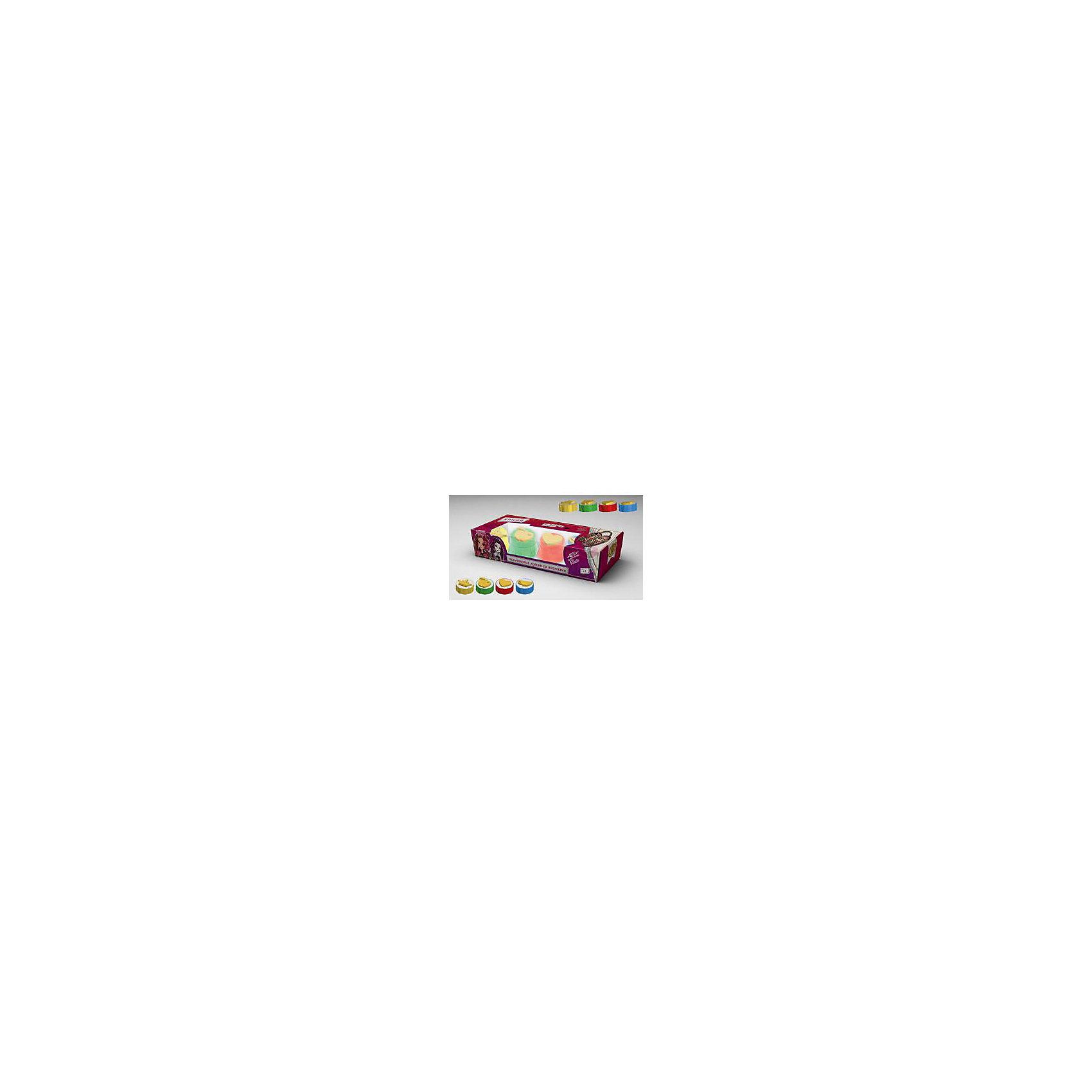 Пальчиковые краски Ever After High со штампами, 4цвПальчиковые краски Ever After High (Эвер Афтер Хай) - увлекательный набор для детского творчества, который надолго увлечет Вашего ребенка. Набор пальчиковых красок оформлен по мотивам популярного мультсериала Ever After High (Эвер Афтер Хай) (Школа Долго и Счастливо) и замечательно подходит для самых маленьких детей, которым еще трудно держать в руках кисточку. В комплекте 4 баночки разных цветов, специально предназначенных для рисования пальцами. Обмакнув пальчики в краски, малыш сможет нарисовать свои первые картинки, а штампики на крышках баночек сделают процесс рисования еще веселее и интереснее. Краски не вызывают аллергических реакций и абсолютно безвредны для кожи. Набор развивает у ребенка фантазию, творческие способности и мелкую моторику рук.<br><br>Дополнительная информация:<br><br>- В комплекте: 4 цвета.<br>- Материал: краски, пластик. <br>- Размер упаковки: 7 х 27 х 4,5 см. <br>- Вес: 239 гр.<br><br>Пальчиковые краски Ever After High (Эвер Афтер Хай) со штампами, 4 цв., Centrum, можно купить в нашем интернет-магазине<br><br>Ширина мм: 70<br>Глубина мм: 270<br>Высота мм: 45<br>Вес г: 239<br>Возраст от месяцев: 24<br>Возраст до месяцев: 48<br>Пол: Женский<br>Возраст: Детский<br>SKU: 4356980