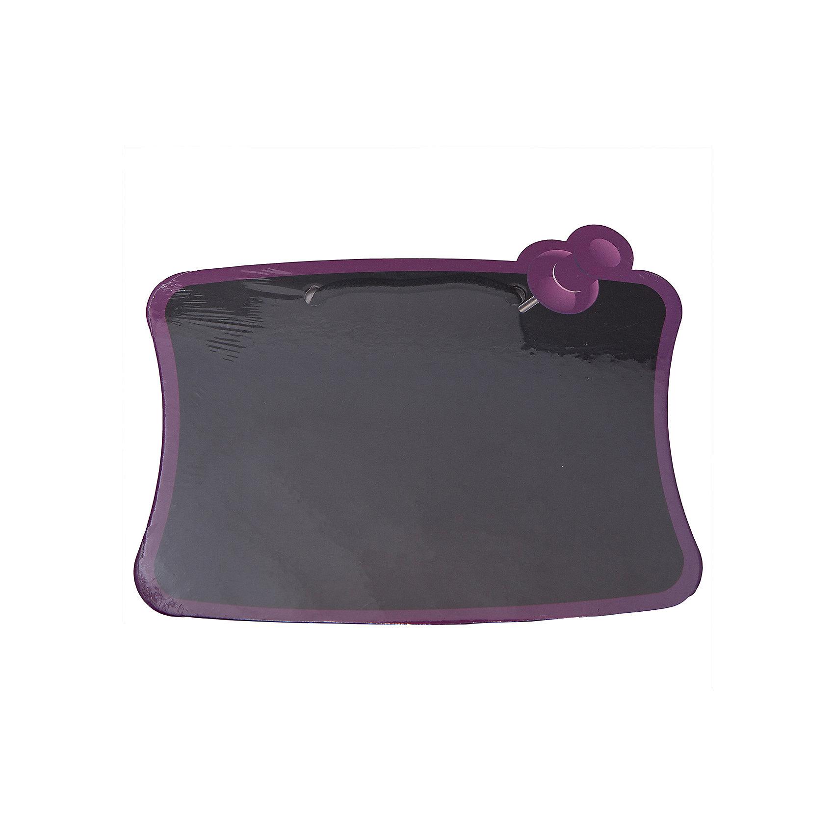Доска для рисования мелом, 245*180 мм., CENTRUMМебель<br>Доска для рисования мелом, Centrum, прекрасно подойдет для записей и рисования. Доска выполнена в виде листа бумаги, закрепленного с помощью розовой кнопки. Записи или рисунки можно легко стереть обычной тряпкой или губкой. Доска изготовлена из ламинированного картона, имеется специальная ручка для переноски или для подвешивания. <br><br>Дополнительная информация:<br><br>- Цвет: черный.<br>- Материал: ламинированный картон.  <br>- Размер доски: 24,5 х 18 см. <br>- Размер упаковки: 0,3 х 26,5 х 19,5 см.<br>- Вес: 93 гр. <br><br>Доску для рисования мелом, Centrum, можно купить в нашем интернет-магазине.<br><br>Ширина мм: 3<br>Глубина мм: 265<br>Высота мм: 195<br>Вес г: 93<br>Возраст от месяцев: 36<br>Возраст до месяцев: 120<br>Пол: Унисекс<br>Возраст: Детский<br>SKU: 4356983