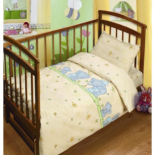 Детский комплект Нежность, НепоседаПостельное белье в кроватку новорождённого<br>Постельное белье Нежность выполнено из натурального хлопка, отлично пропускает воздух, очень приятно к телу, что обеспечивает малышам крепкий и здоровый сон. В производстве ткани использованы высококачественные гипоаллергенные красители безопасные для детей. Нежный рисунок и приглушенные оттенки успокоят ребенка, настроят на отдых, подарят ему добрые сны. <br><br>Дополнительная информация:<br><br>- Пододеяльник, простыня, наволочка (1 шт.)<br>- Размер: пододеяльник - 147х112, простыня -  150х110, наволочка 40х60.<br>- Материал: бязь (100% хлопок).<br>- Плотность ткани 115 г/м2<br>- Декоративные элементы: принт.<br><br>Детский комплект Нежность, Кошки-мышки, можно купить в нашем магазине.<br><br>Ширина мм: 250<br>Глубина мм: 350<br>Высота мм: 70<br>Вес г: 1500<br>Возраст от месяцев: 0<br>Возраст до месяцев: 60<br>Пол: Унисекс<br>Возраст: Детский<br>SKU: 4358361