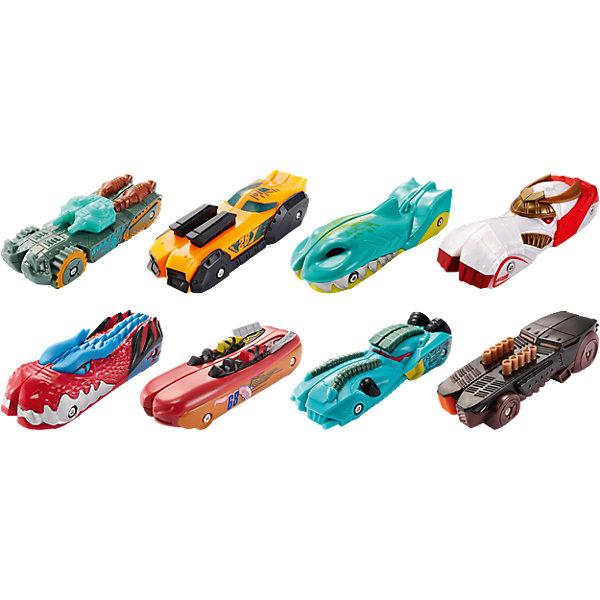 Машинки Разделяющиеся гонщики, в ассортименте, Hot WheelsПопулярные игрушки<br>Машинки Разделяющиеся гонщики, Hot Wheels, станут прекрасным подарком для всех юных любителей автогонок. Каждая машинка обладают уникальной способностью разделяться пополам и снова собираться вместе. Встроенный в машинку магнит позволяет ей разделиться на две половины, а потом соединиться с половиной любой другой машинки из серии Split Speeders. Таким образом, Вы сможете создавать невероятные комбинации, сочетая машинки с разным дизайном и оформлением - классические, звериные, гоночные. Специальная трасса для машинок Split Speeders (продается отдельно!) разделяет и собирает машинки во время гонки. Игрушка не подходит для использования с некоторыми наборами Hot Wheels.<br><br>Дополнительная информация:<br><br>- В комплекте: 1 машинка. <br>- Материал: пластик.<br>- Размер машинки: 9 х 3 см.<br>- Размер упаковки: 24 x 12,5 x 3 см. <br>- Вес: 100 гр.<br><br>Машинки Разделяющиеся гонщики, Hot Wheels, можно купить в нашем интернет-магазине.<br>Ширина мм: 239; Глубина мм: 129; Высота мм: 30; Вес г: 80; Возраст от месяцев: 48; Возраст до месяцев: 84; Пол: Мужской; Возраст: Детский; SKU: 4373748;