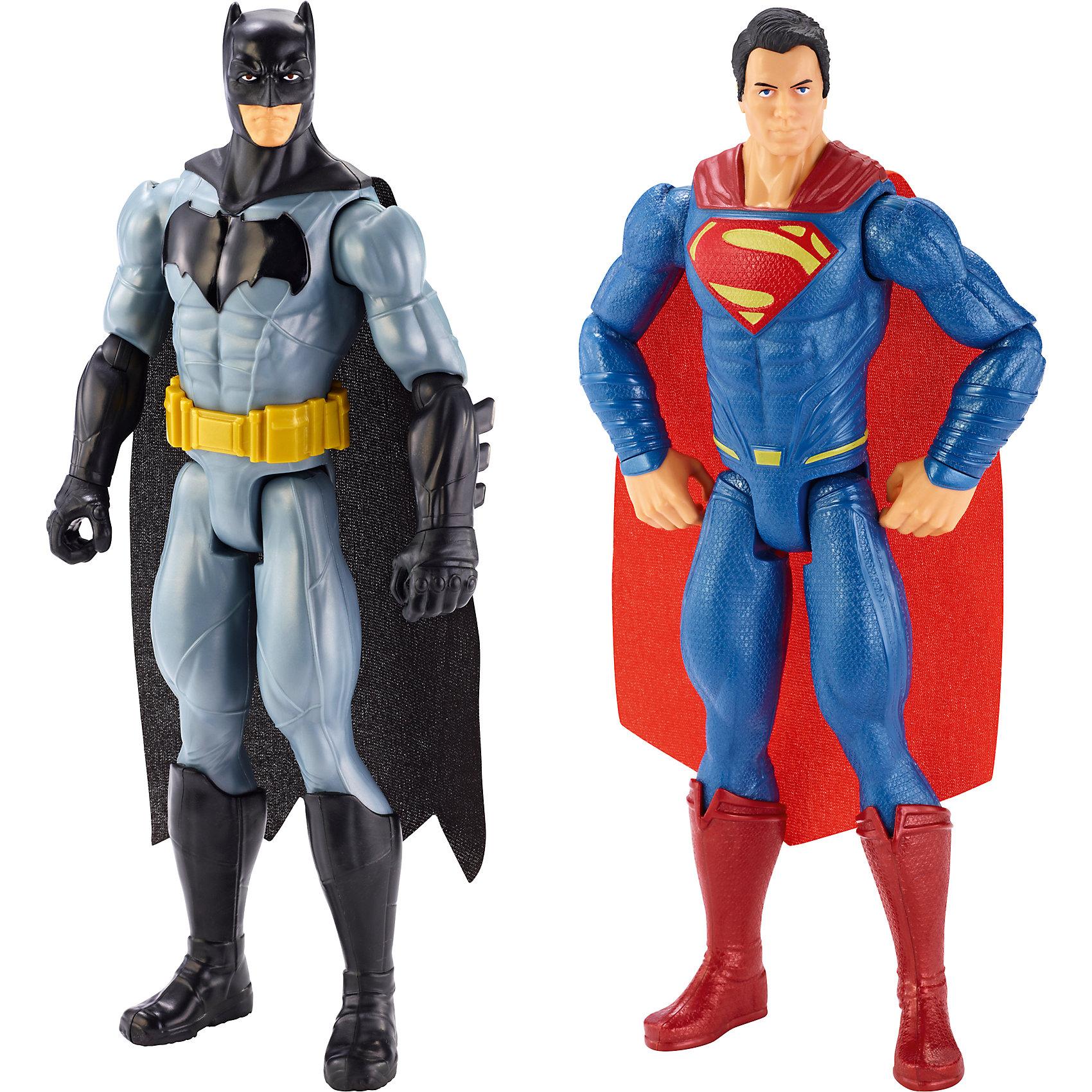 Игровой набор Бетмен против СуперменаБэтмен<br>Дополнительная информация:<br><br>В комплекте 2 фигурки: Супермен и Бэтмен<br>Высота фигурок: 30 см<br>Размер упаковки: 23,3 см x 6,2 см x 30,7 см<br><br>Игровой набор Бетмен против Супермена (Batman vs Superman) можно купить в нашем магазине.<br><br>Ширина мм: 307<br>Глубина мм: 233<br>Высота мм: 60<br>Вес г: 489<br>Возраст от месяцев: 36<br>Возраст до месяцев: 72<br>Пол: Мужской<br>Возраст: Детский<br>SKU: 4373767