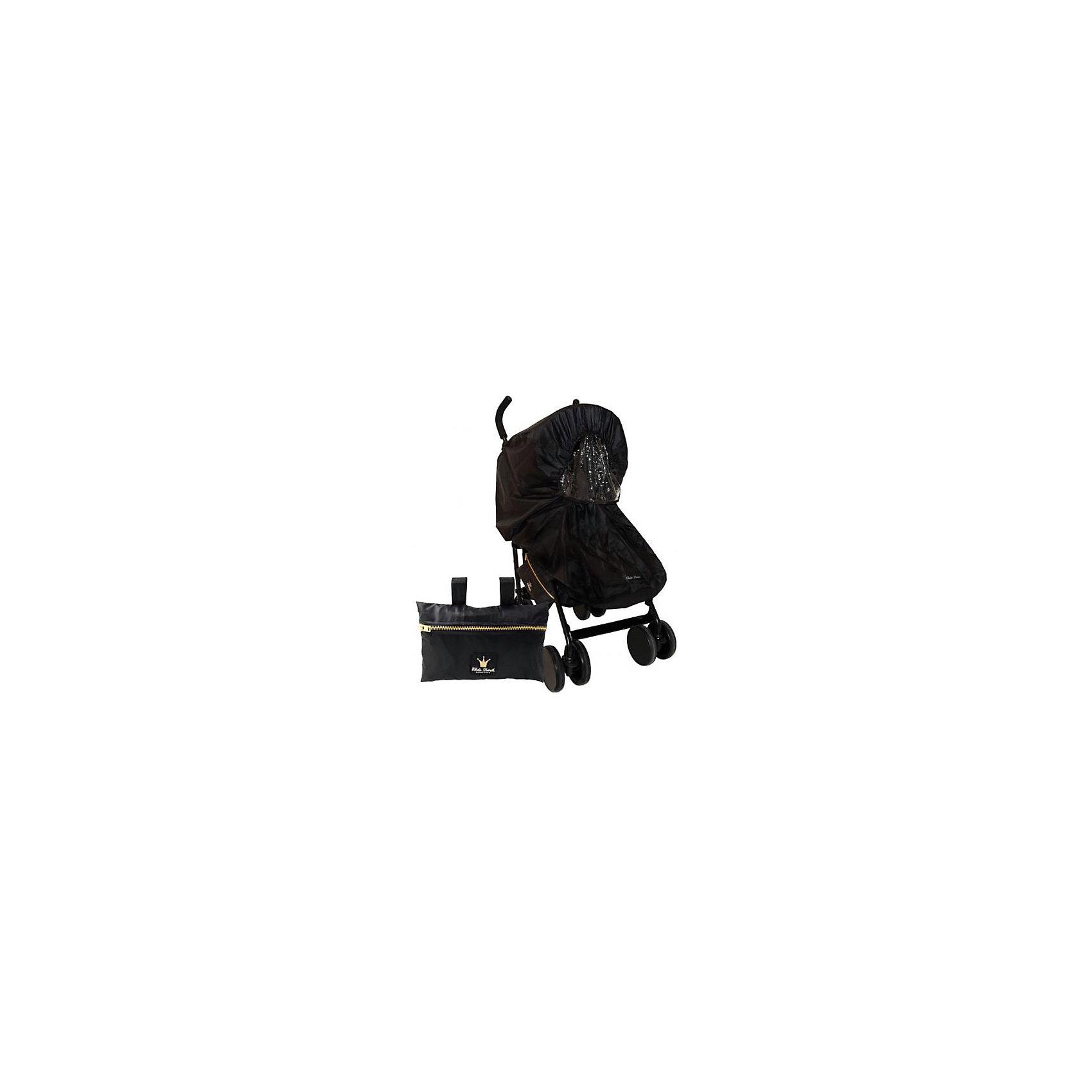 Дождевик для коляски цвет Black Edition, ELODIE DETAILSСтильный дождевик Elodie Details выпускается в соответствии с дизайном колясок, но при этом является совершенно самостоятельным аксессуаром, который подходит ко всем коляскам - как коляскам с люльками, так и для всех типов прогулочных. Не только обеспечивает надежную защиту от дождя, но и выглядят очень эффектно. Поставляется в комплекте со специальной сумочкой с фирменным знаком в виде короны, которую можно крепить к коляске.<br>Эффектный дождевик Black Edition отличает элегантный  черный цвет с отделкой золотыми деталями - золотая молния, кнопки и фирменный знак короны на сумочке. <br><br>Дополнительная информация:<br><br>- полностью универсален и подходит ко всем видам спальных и прогулочных колясок <br>- подходит к коляскам как с одной, так и с двумя ручками <br>- полностью непромокаемый <br>- легко надевается на коляски, благодаря эластичным краям <br>- для прогулочных колясок продуман таким образом, что натягивается на подножку, но при этом оставляет достаточно места для зимнего конверта или муфты <br>- окошко на 4-х кнопках - хорошо защищает от дождя, но при этом не затрудняет приток свежего воздуха, его легко снять или убрать под козырек <br>- молния в передней части удобно расстегивается, поэтому доступ к ребенку не затруднен <br>- сзади дождевик регулируется с помощью липучек <br>- очень качественная ткань и детали <br>- в комплекте стильная сумочка, которая крепится к коляске с помощью липучек, чтобы дождевик всегда был у вас под рукой!    <br><br>Дождевик для коляски цвет Black Edition, ELODIE DETAILS можно купить в нашем магазине.<br><br>Ширина мм: 260<br>Глубина мм: 210<br>Высота мм: 60<br>Вес г: 205<br>Возраст от месяцев: -2147483648<br>Возраст до месяцев: 2147483647<br>Пол: Унисекс<br>Возраст: Детский<br>SKU: 4384096