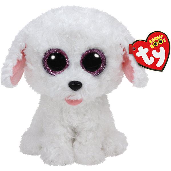 Мягкая игрушка Щенок (белый) Pippie , 15 см, Beanie Boos, TyМягкие игрушки из мультфильмов<br>Мягкая игрушка Щенок (белый) Pippie , 15 см, Beanie Boos, Ty (Тай)<br><br>Характеристики:<br><br>• мягкая игрушка приятна на ощупь<br>• способствует развитию мелкой моторики и тактильных навыков<br>• безопасна для ребенка<br>• размер игрушки: 15 см<br>• материал: текстиль, искусственный мех, пластик<br><br>Щенок Pippie - очень забавный и озорной малыш. С ним можно придумать множество веселых игр! Большие выразительные глазки и мягкая шерстка Pippie никого не оставят равнодушным! Игрушка изготовлена из материалов, безопасных для детей. Способствует развитию моторики рук, зрительной координации, речевых и тактильных навыков.<br><br>Мягкую игрушку Щенок (белый) Pippie , 15 см, Beanie Boos, Ty (Тай) вы можете купить в нашем интернет-магазине.<br><br>Ширина мм: 150<br>Глубина мм: 107<br>Высота мм: 95<br>Вес г: 91<br>Возраст от месяцев: 12<br>Возраст до месяцев: 60<br>Пол: Унисекс<br>Возраст: Детский<br>SKU: 4386720