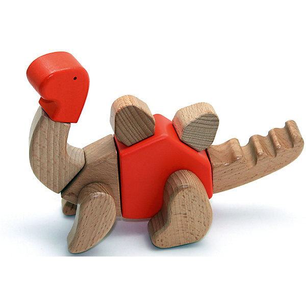Деревянная игрушка Трицератопс, EQBДеревянные фигурки<br>Деревянная игрушка Трицератопс, EQB – это деревянный конструктор, предназначенный для раннего развития малыша.<br>Конструктор EQB включает 16 крупных деревянных элементов, с помощью которых ребенок легко сможет собрать игрушку в виде Трицератопса с подвижными конечностями. Из деталей набора можно собрать 6 различных моделей динозавров. Главная особенность конструктора - оригинальное крепление clicknturn 360. Это крепление позволяет легко соединять детали и вращать их на 360 градусов. Детали изготовлены из твердых пород древесины, окрашены натуральными красителями, вручную и обработаны растительными маслами для создания ровной и гладкой поверхности. Конструктор полностью безопасен для детей. Тренирует усидчивость, мелкую моторику руку и развивает навыки конструирования с раннего детства. В комплект входит текстильный мешочек, затягивающийся сверху на кулиску, в котором удобно хранить конструктор. Собрав, коллекцию из трех динозавров ребенку будет доступно 30 моделей для сборки.<br><br>Дополнительная информация:<br><br>- В наборе: 16 деталей, мешочек, 30 карточек с изображениями различных собранных динозавров, инструкция<br>- Материал: древесина<br>- Размер готовой игрушки: 7 х 22 х 12 см.<br>- Размер упаковки: 12,5 x 25,5 x 6,5 см.<br>- Вес: 400 гр.<br><br>Деревянную игрушку Трицератопс, EQB можно купить в нашем интернет-магазине.<br><br>Ширина мм: 125<br>Глубина мм: 255<br>Высота мм: 65<br>Вес г: 400<br>Возраст от месяцев: 36<br>Возраст до месяцев: 96<br>Пол: Унисекс<br>Возраст: Детский<br>SKU: 4387471