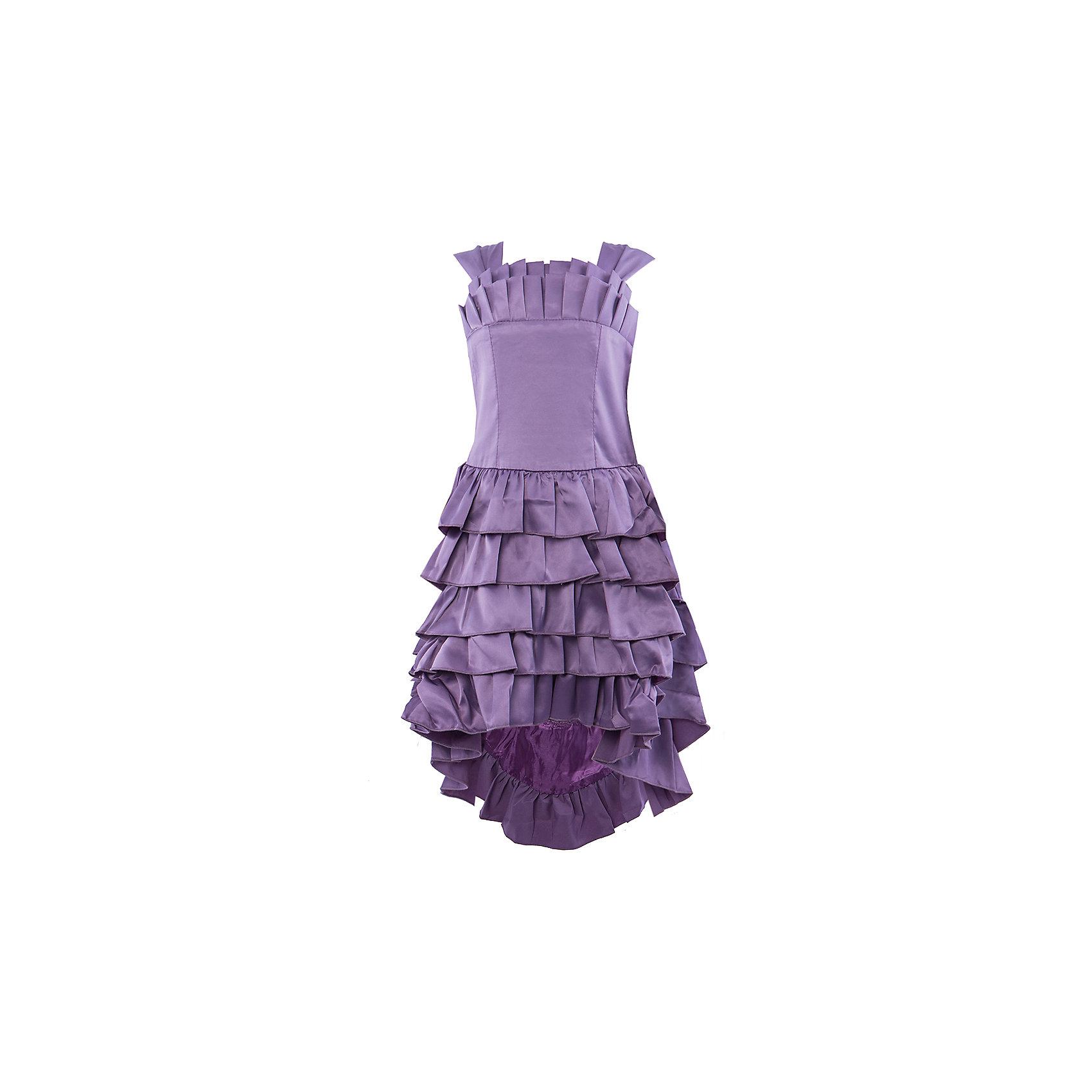 Платье ВенераНарядное платье для девочки со шлейфом. Юбка декорирована оборками.Спинка на резинке, платье подойдет на любую фигуру ребенка.<br><br>Ширина мм: 236<br>Глубина мм: 16<br>Высота мм: 184<br>Вес г: 177<br>Цвет: фиолетовый<br>Возраст от месяцев: 36<br>Возраст до месяцев: 48<br>Пол: Женский<br>Возраст: Детский<br>Размер: 98/104,116/122,104/110,110/116<br>SKU: 4388988