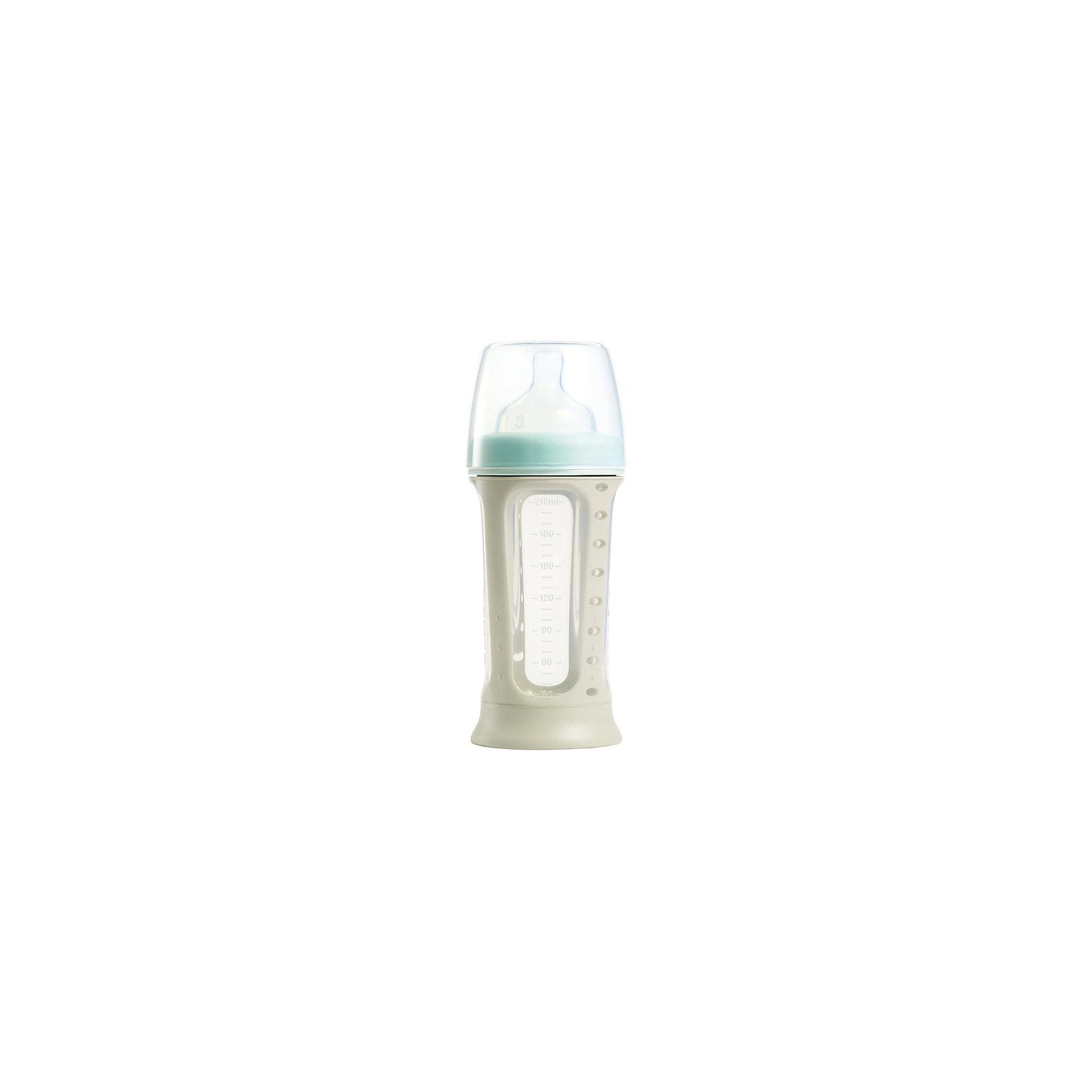 Бутылочка Biboz 210мл, Beaba, синий