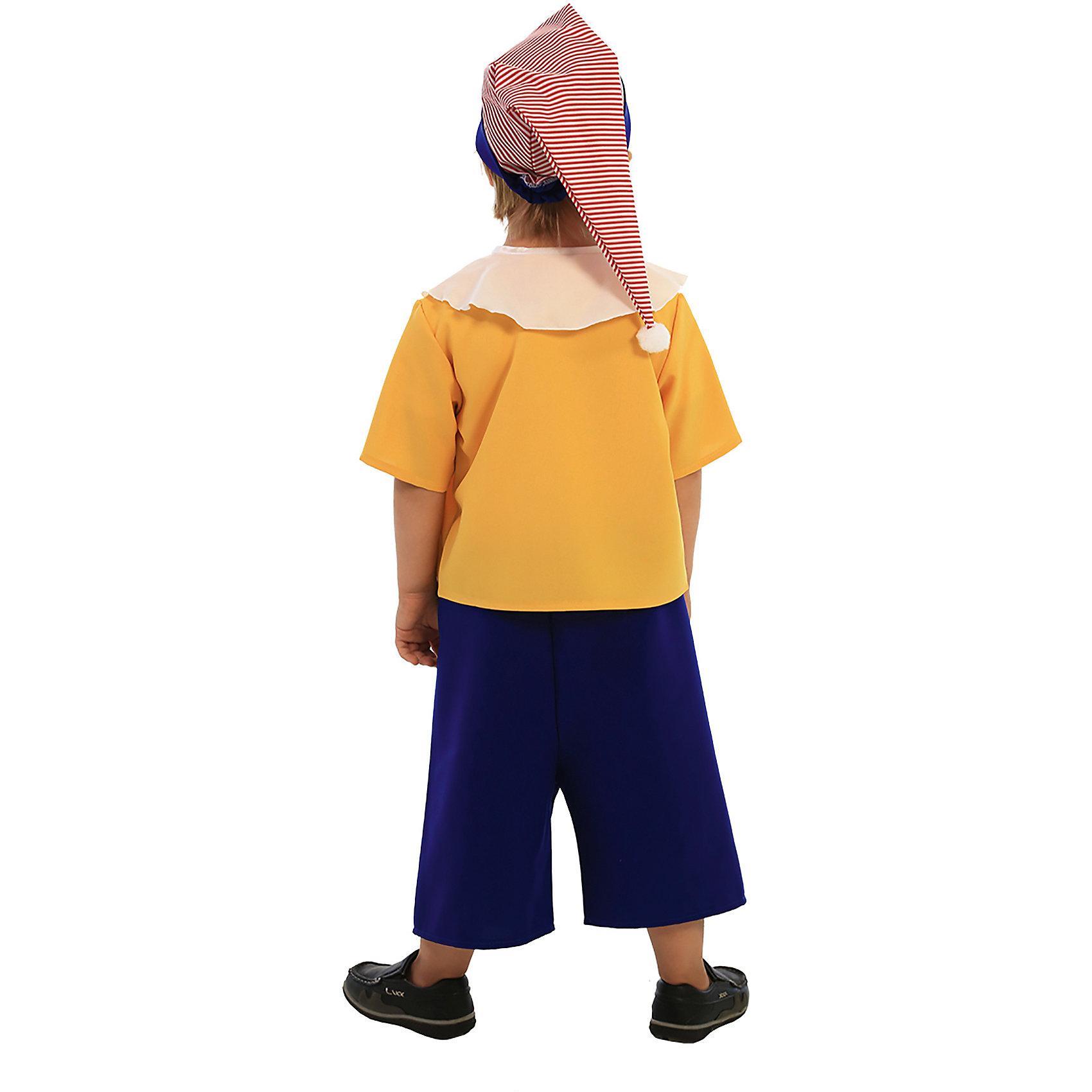 """Карнавальный костюм для мальчика """"Буратино"""", Вестифика от myToys"""