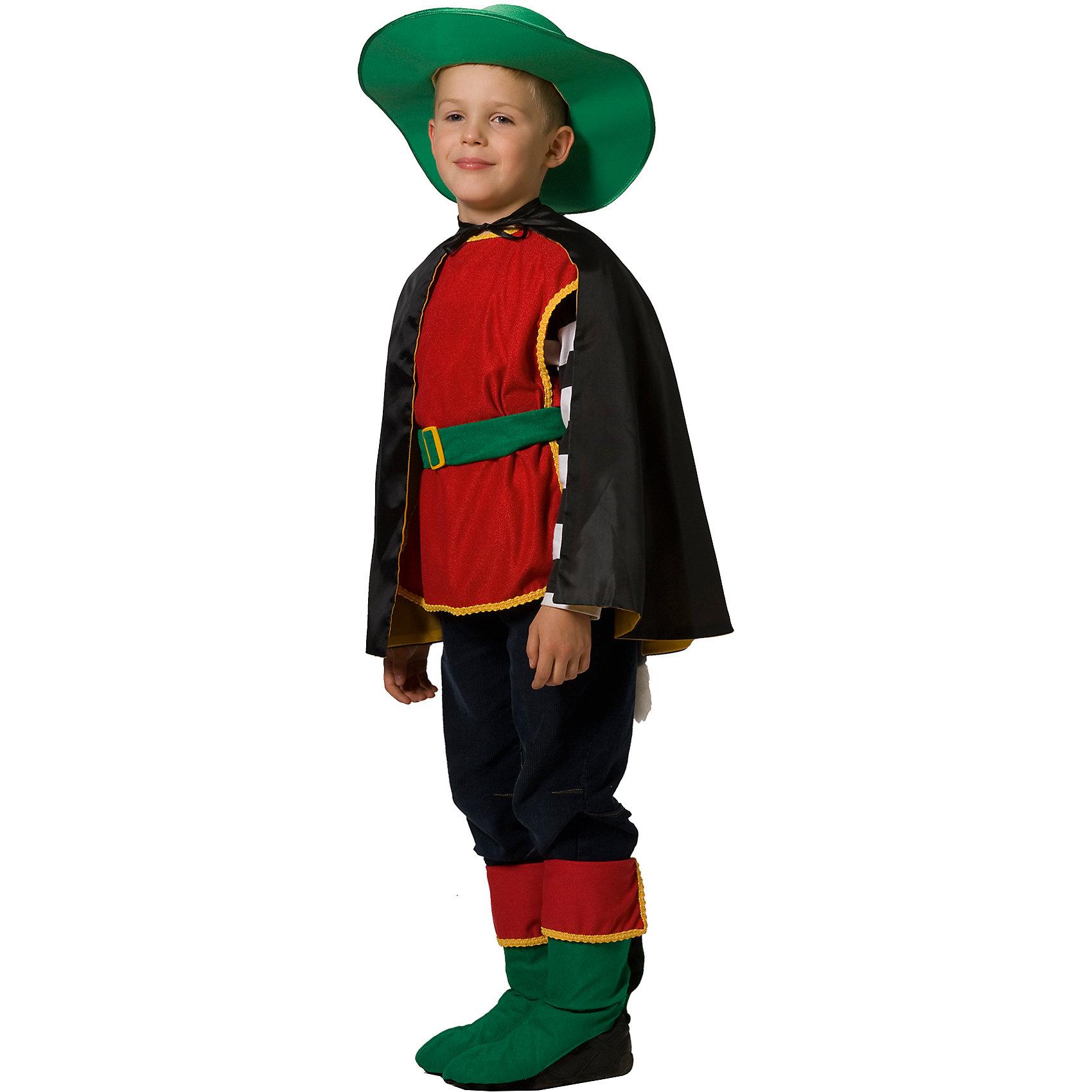 """Карнавальный костюм для мальчика """"Кот в сапогах"""", Вестифика от myToys"""